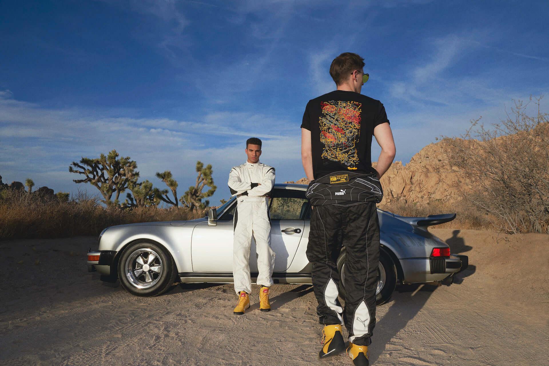 プーマとポルシェによるコラボコレクションが登場!『911 ターボ』の世界観溢れるスニーカーやTシャツなど life200410_puma_porsche_21-1920x1281