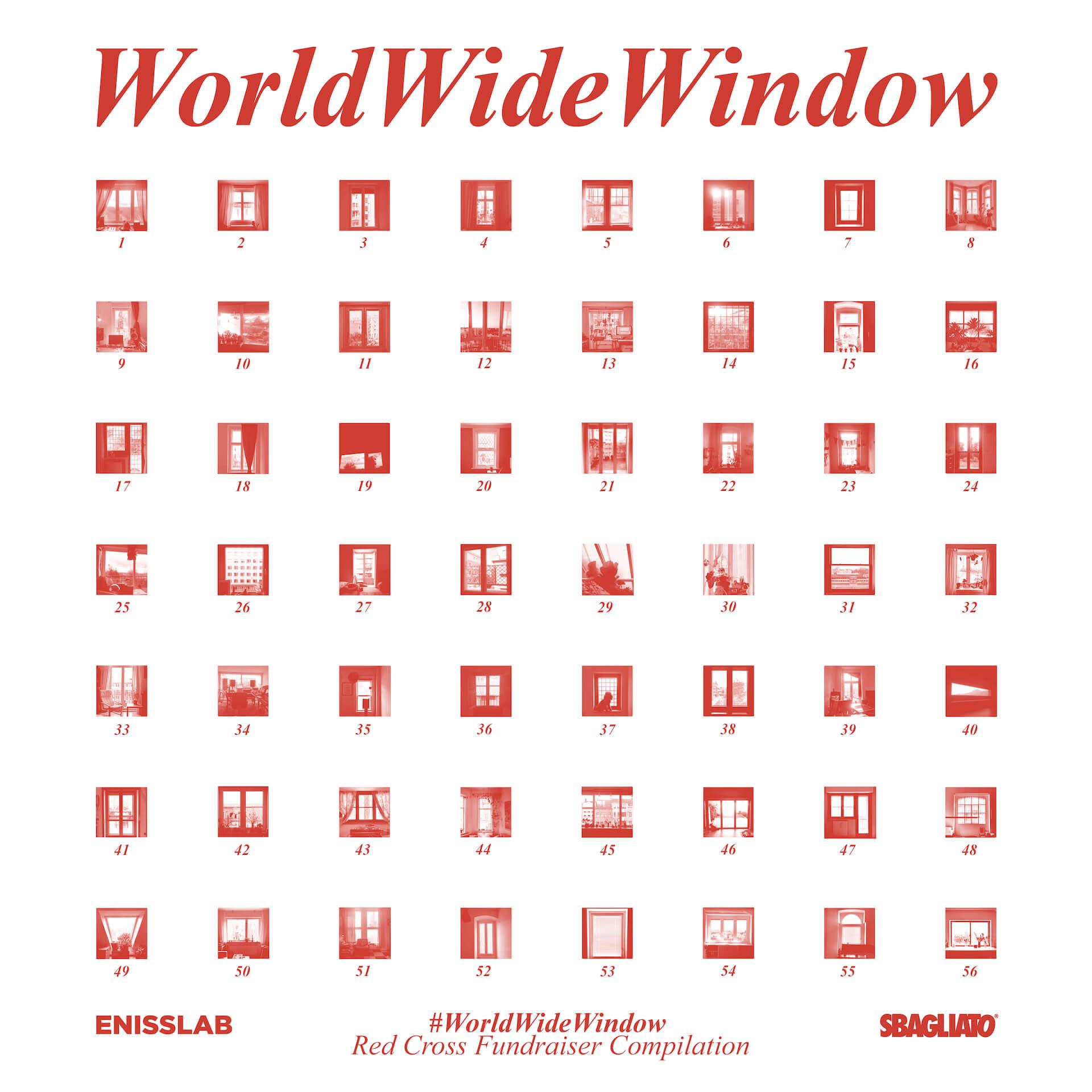 テクノ・アーティストによる新型コロナウイルス感染症に対抗するチャリティーコンピレーションプロジェクト『WorldWideWindow』が始動 music200410_worldwidewindow_1