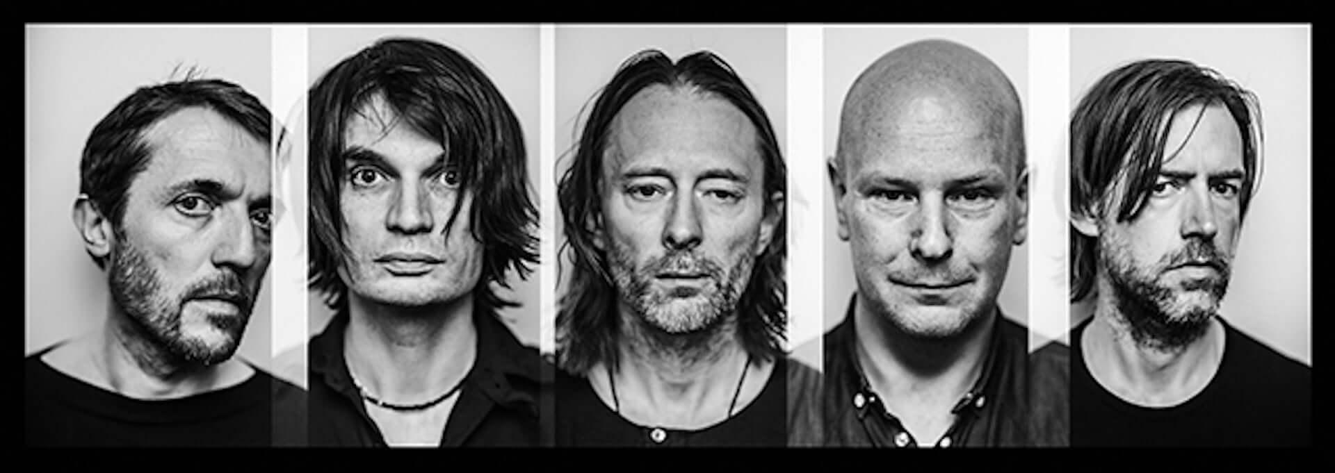 Radioheadが2000年にダブリンで実施したライブ映像を公開!Thom Yorke『ANIMA』Tシャツの単体販売も開始 music200410_radiohead_1-1920x681