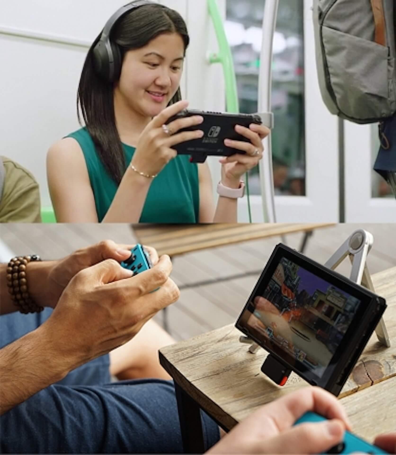 Nintendo Switchをワイヤレスイヤホン/スピーカーで楽しもう!Bluetooth対応アダプタ「Genki」がGlotureで発売中 tech200414_nintendoswitch_1
