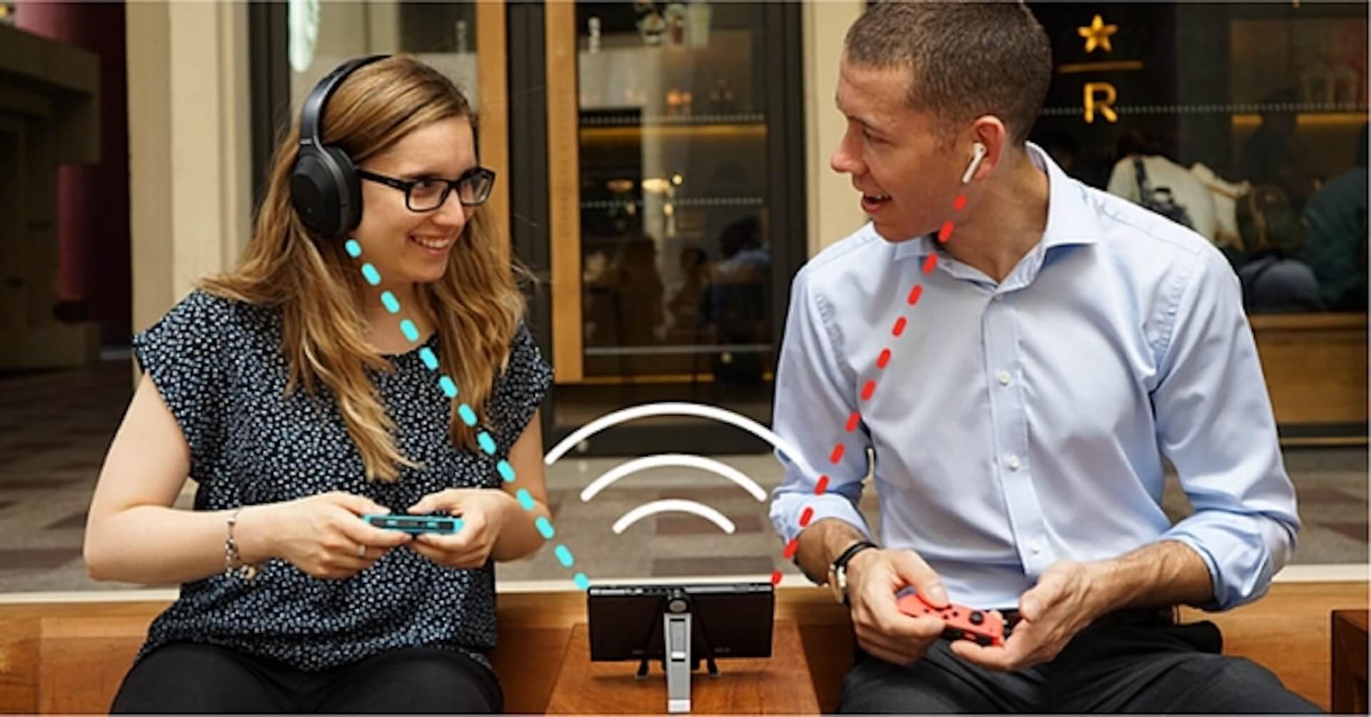 Nintendo Switchをワイヤレスイヤホン/スピーカーで楽しもう!Bluetooth対応アダプタ「Genki」がGlotureで発売中 tech200414_nintendoswitch_7