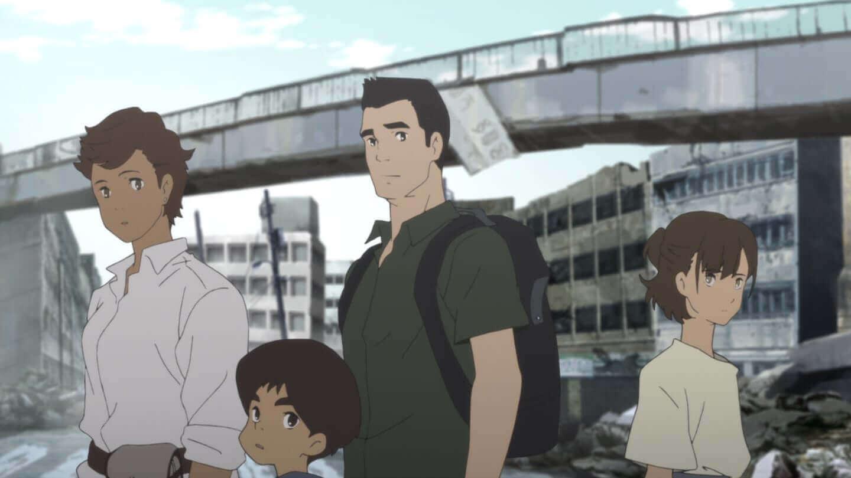 今夏配信のNetflix『日本沈没2020』の家族に訪れる明るい希望を描いたキービジュアルが解禁! art200416_nihonchinbotsu_3