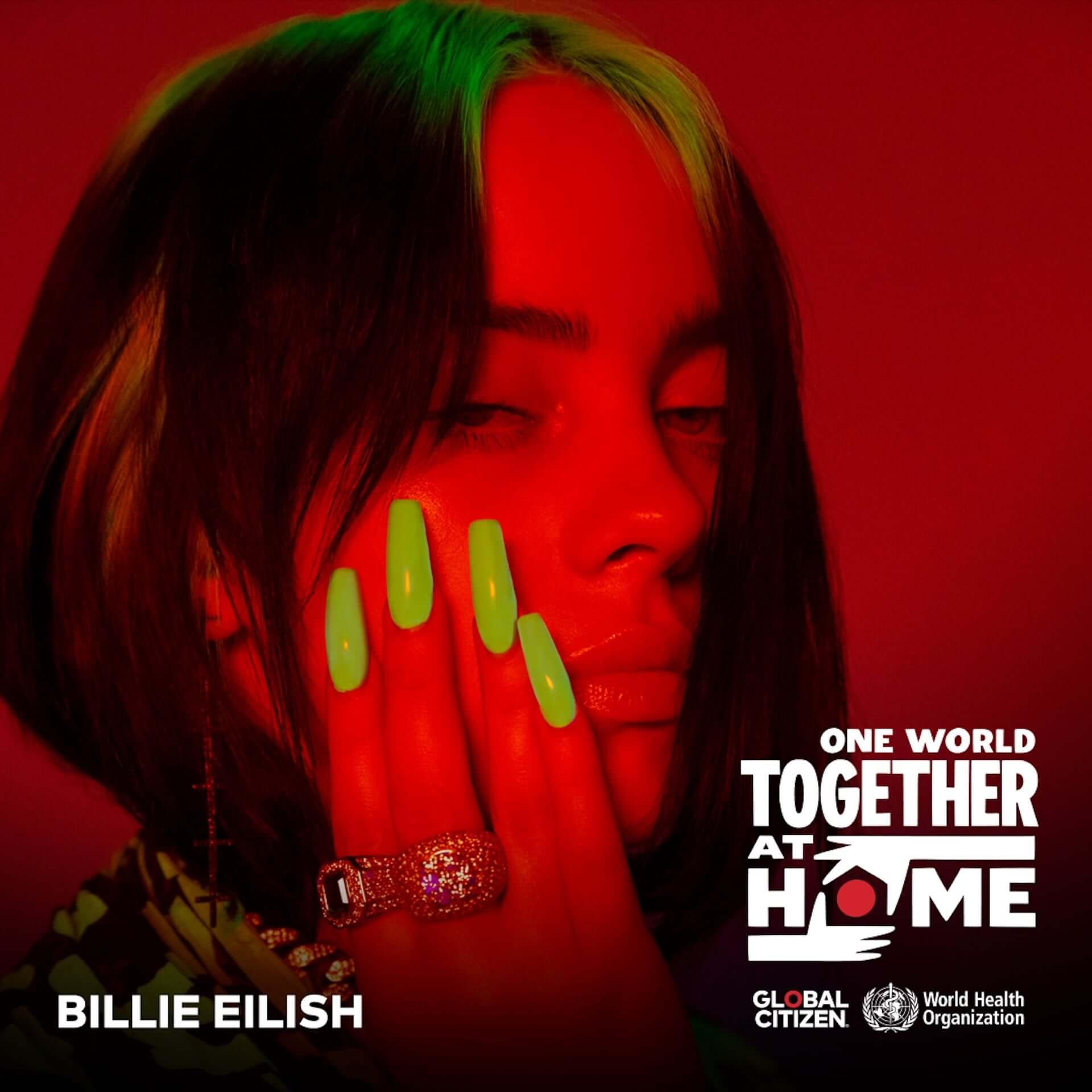 レディー・ガガ主導のバーチャルコンサート<One World: Together At Home>が配信決定!ビリー・アイリッシュ、エルトン・ジョンら豪華ラインナップ music200416_amazon_oneworld_2-1920x1920