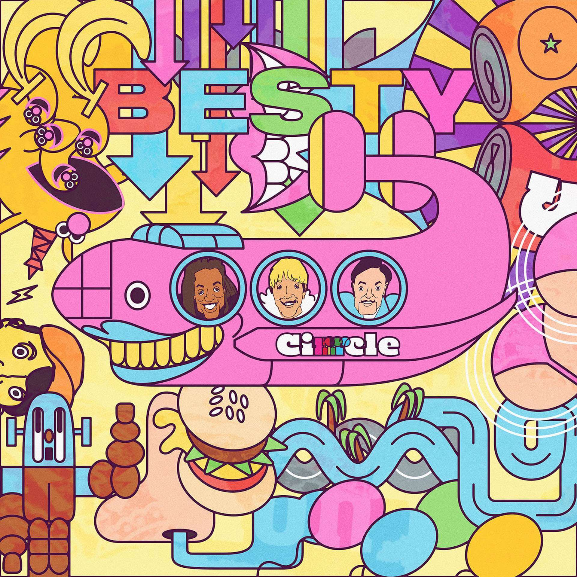 "CIRRRCLEが初の全国流通盤『BESTY』より""Under Pressure""を先行配信中!購入者特典はステッカーに決定 music200416_cirrrcle_02"