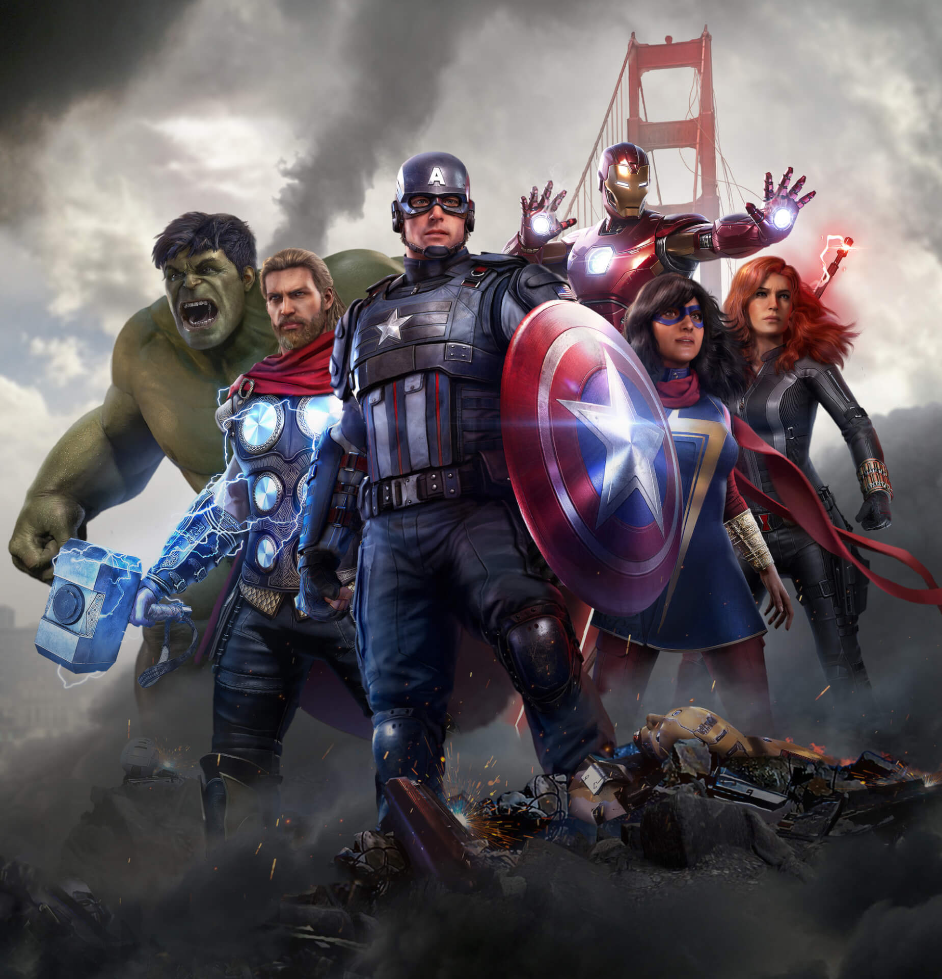 アベンジャーズ、ゲームでアッセンブル!『Marvel's Avengers』がついに予約受付開始&最新トレーラーも解禁 tech200417_avengers_game_8