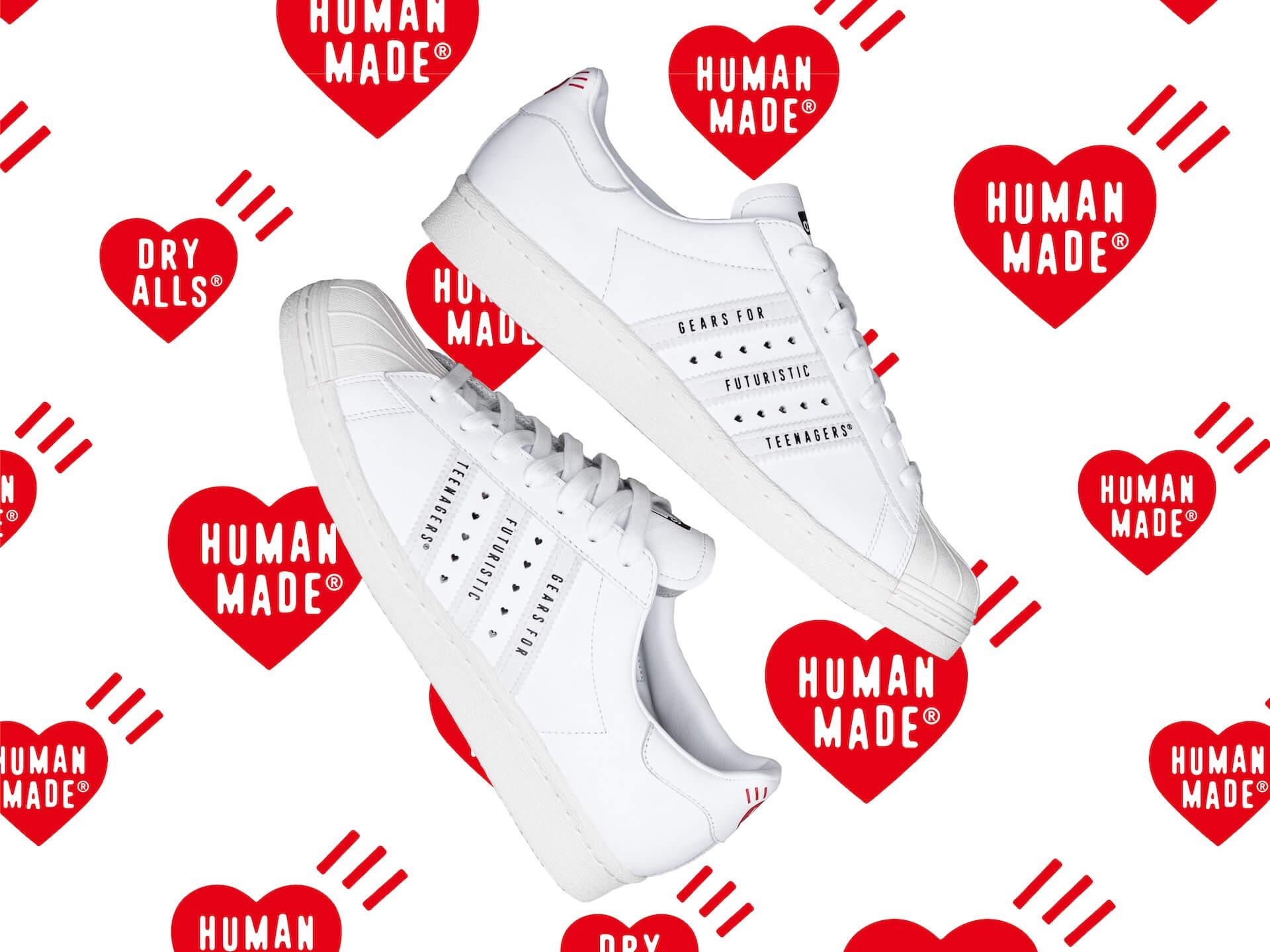 adidas OriginalsとNIGOがコラボ!ハートロゴがあしらわれた『SUPERSTAR』が発売 lf200417_adidashumanmade_02