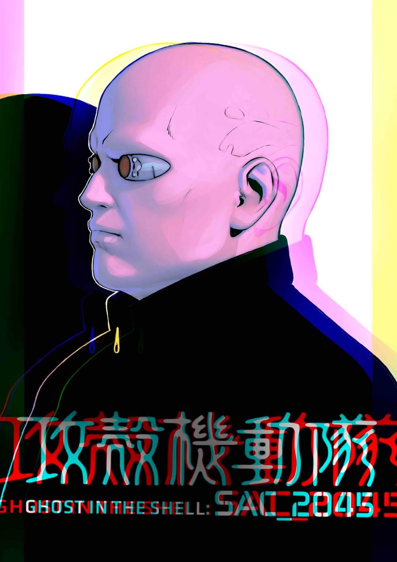 素子、バトー、トグサらの他に謎のキャラクターも...?Netflix『攻殻機動隊 SAC_2045』のキャラクターデザインが一挙解禁! art200418_ghostintheshell_8