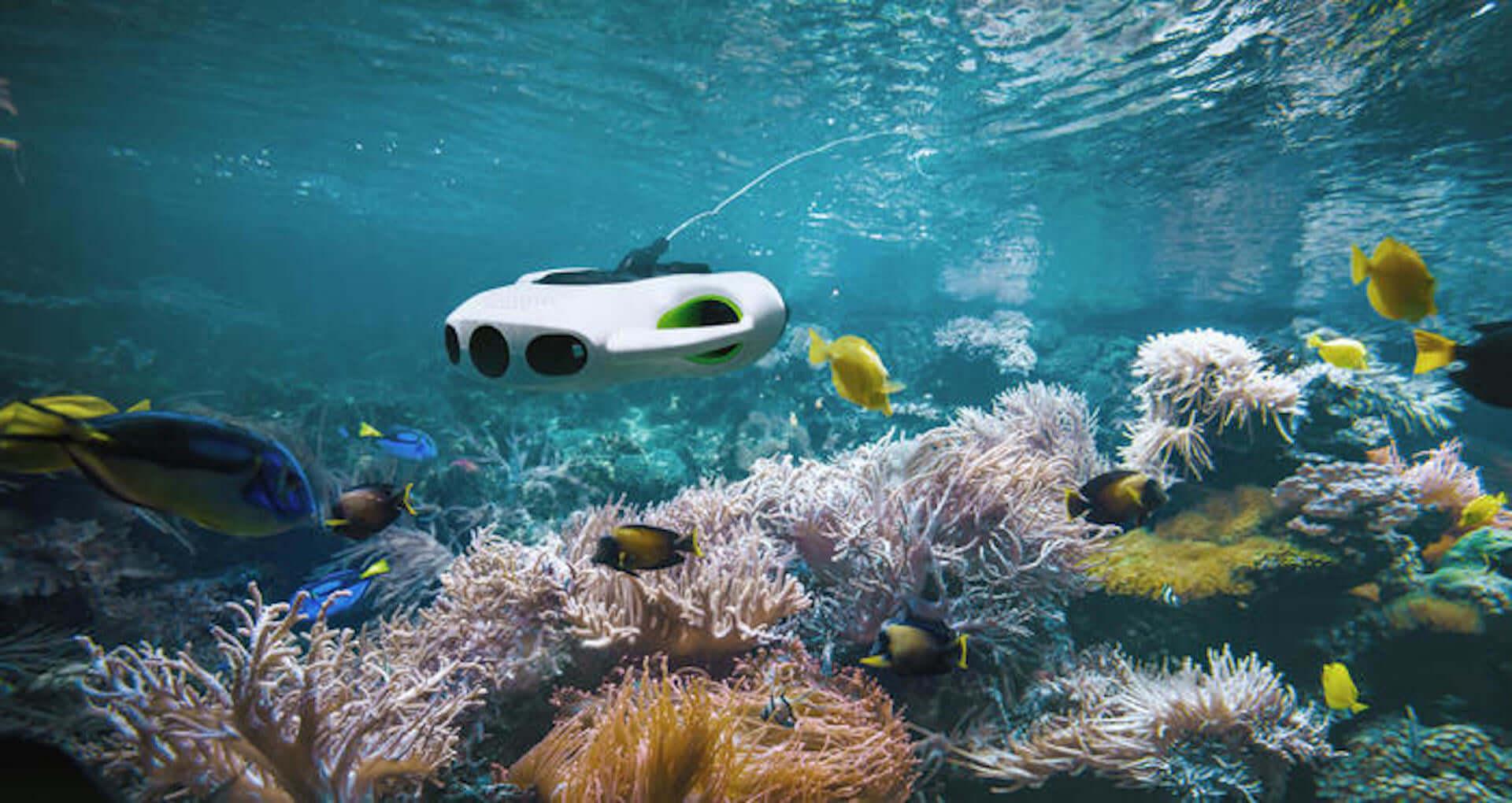 4Kカメラ&130度広角レンズ搭載の水中ドローン『BW Space Pro』がクラウドファンディングにて販売開始! tech200420_youcan_robot_3-1920x1020