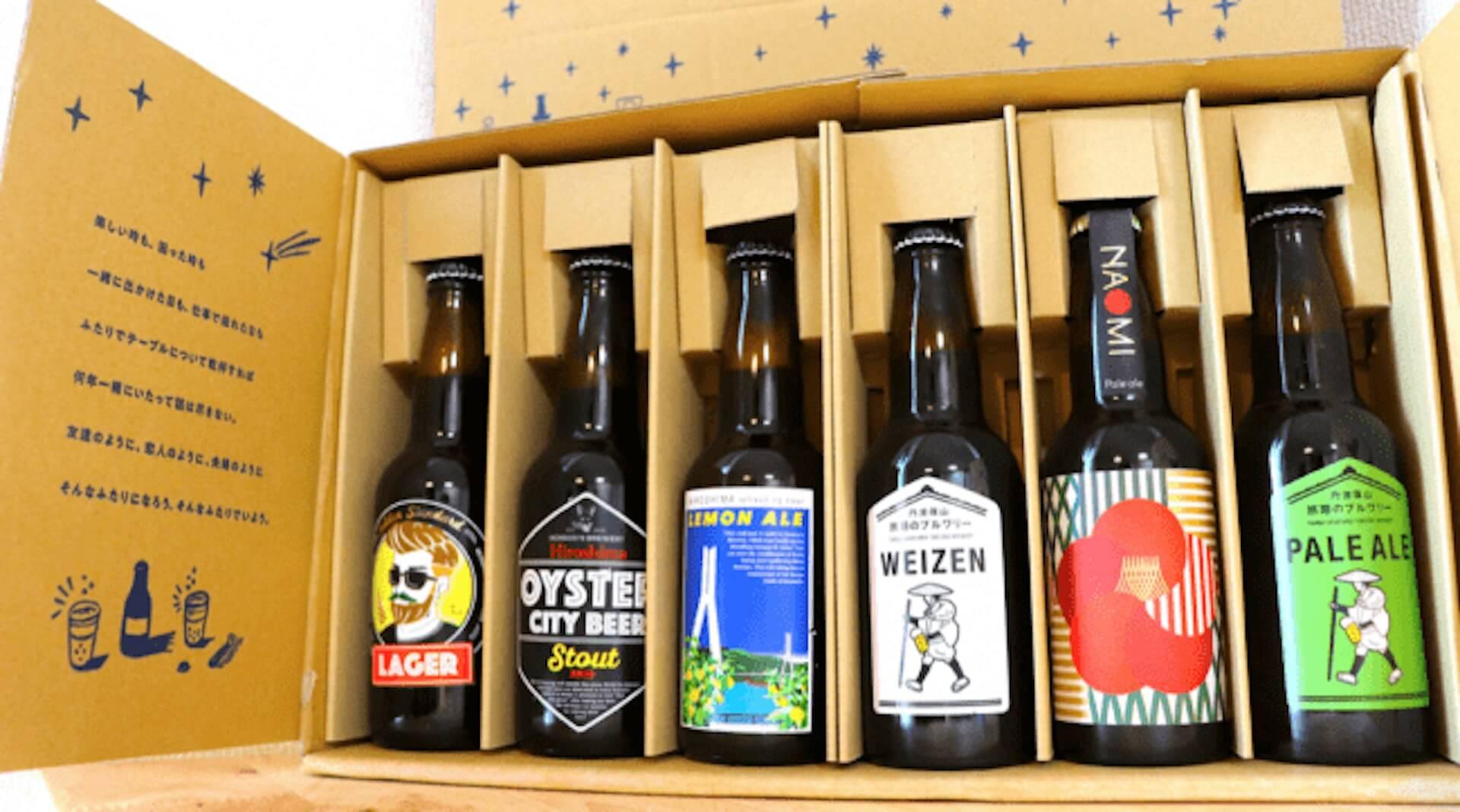 「日本のクラフトビール文化を守ろう」キャンペーン第2弾が始動!4地方別のブルワリー応援6本セットが登場 gourmet200420_hutarinomi_02