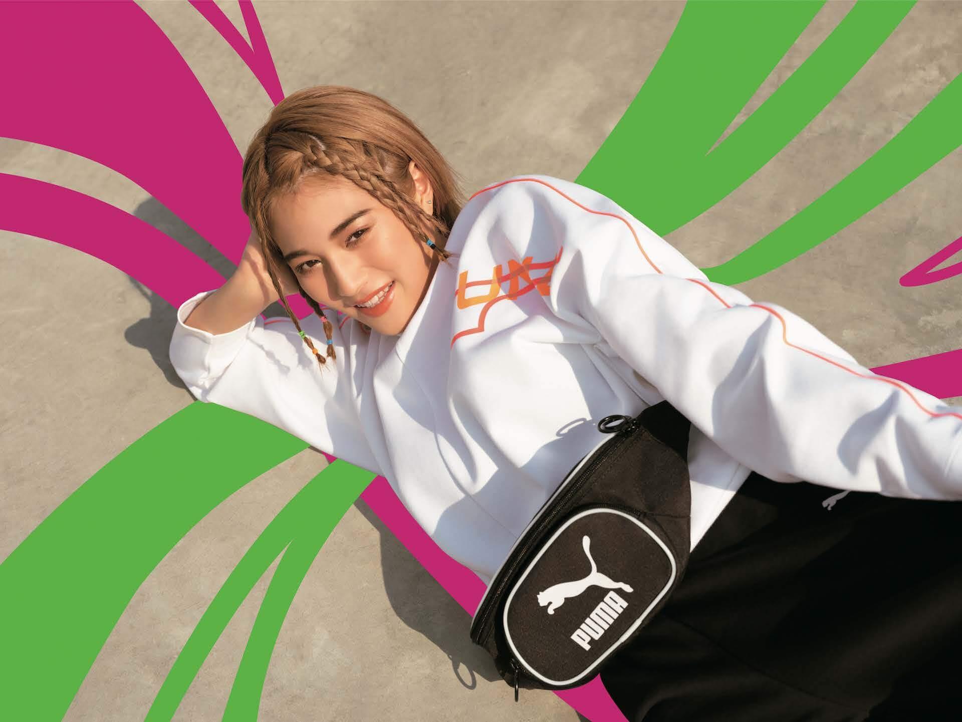 PUMA「RIDER」シリーズ最新作『FUTURE RIDER & STYLE RIDER』 藤田ニコルと浪花ほのかが登場するLOOKが公開! lf200421_puma_rider_05