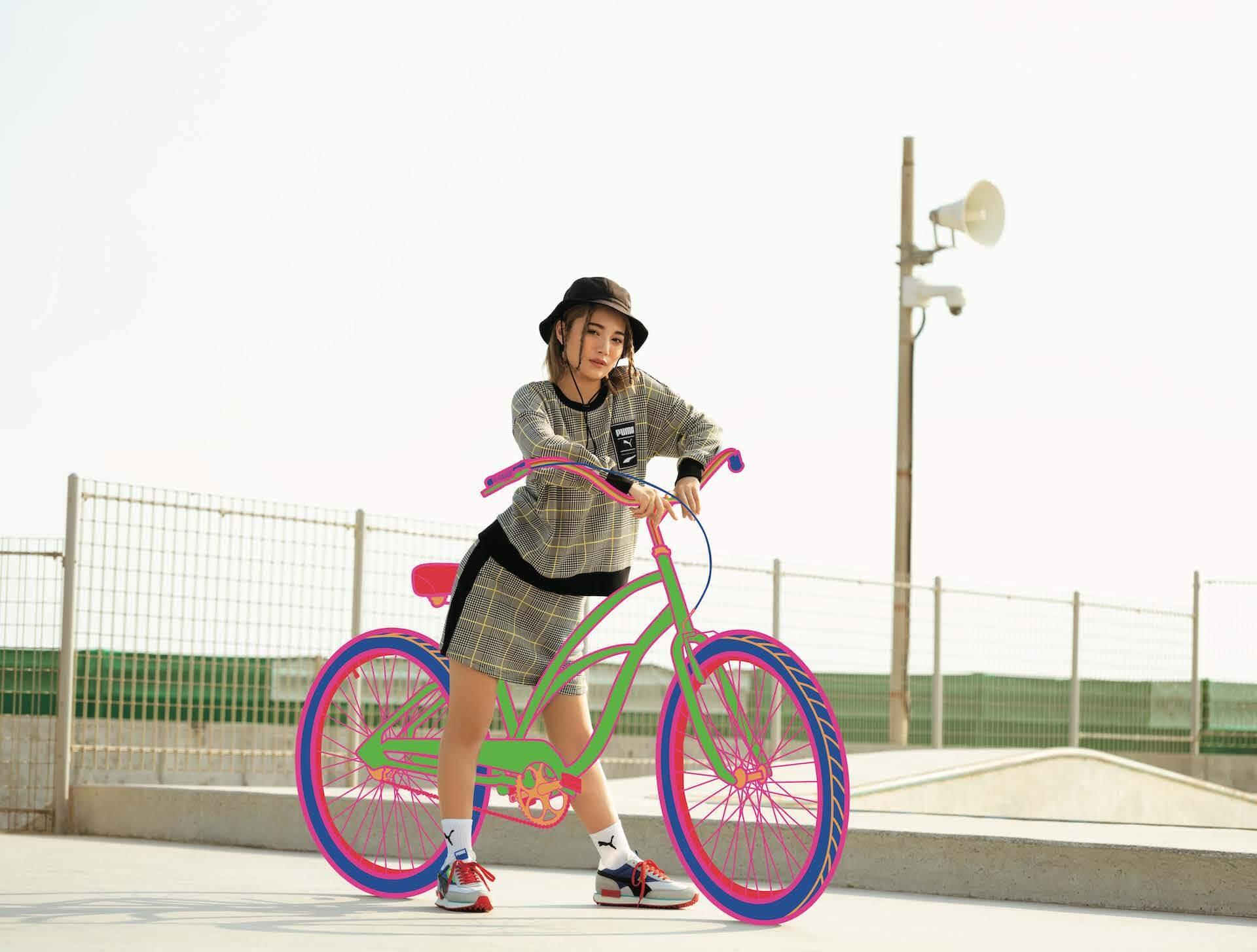 PUMA「RIDER」シリーズ最新作『FUTURE RIDER & STYLE RIDER』 藤田ニコルと浪花ほのかが登場するLOOKが公開! lf200421_puma_rider_10