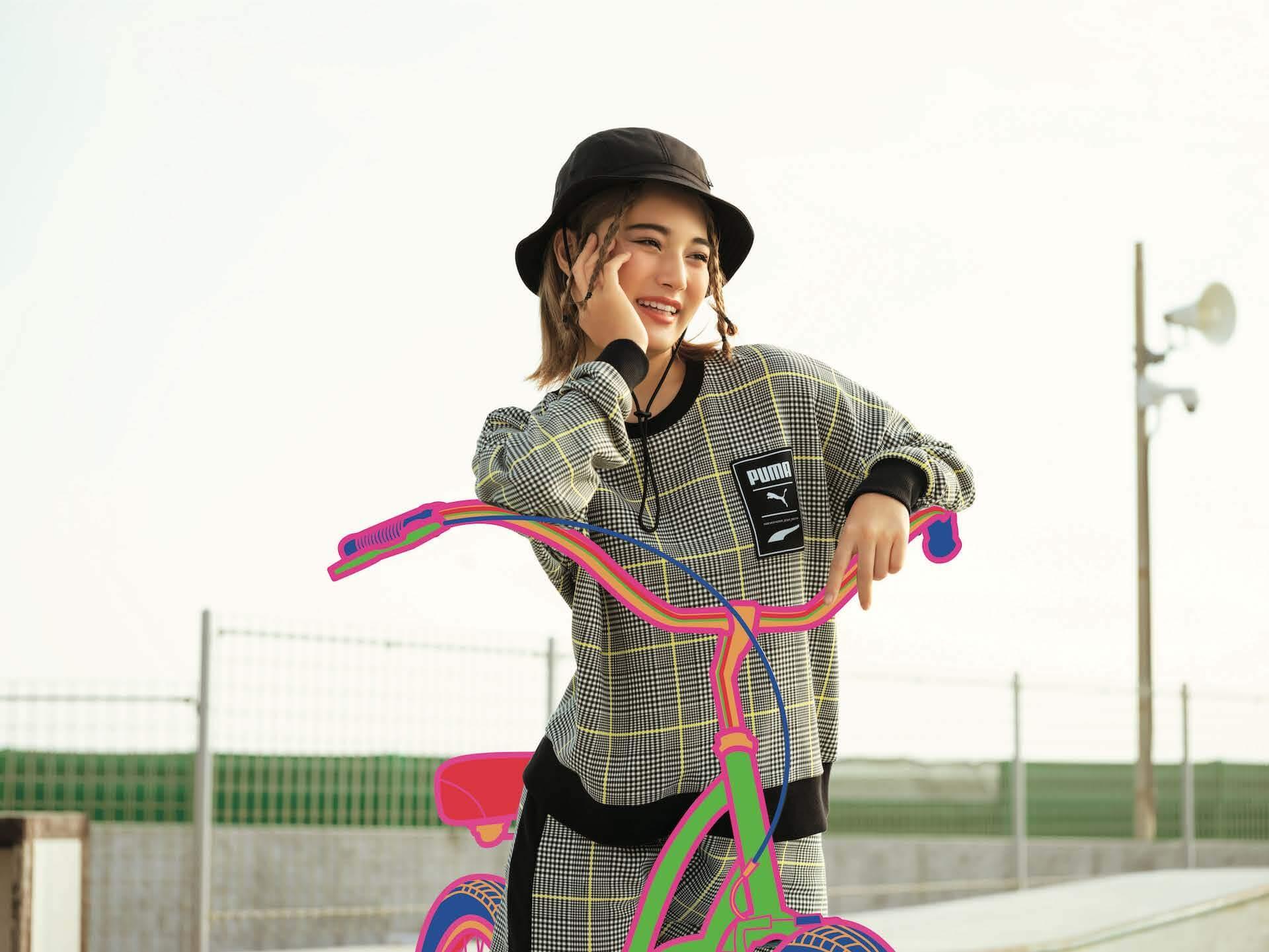 PUMA「RIDER」シリーズ最新作『FUTURE RIDER & STYLE RIDER』 藤田ニコルと浪花ほのかが登場するLOOKが公開! lf200421_puma_rider_12