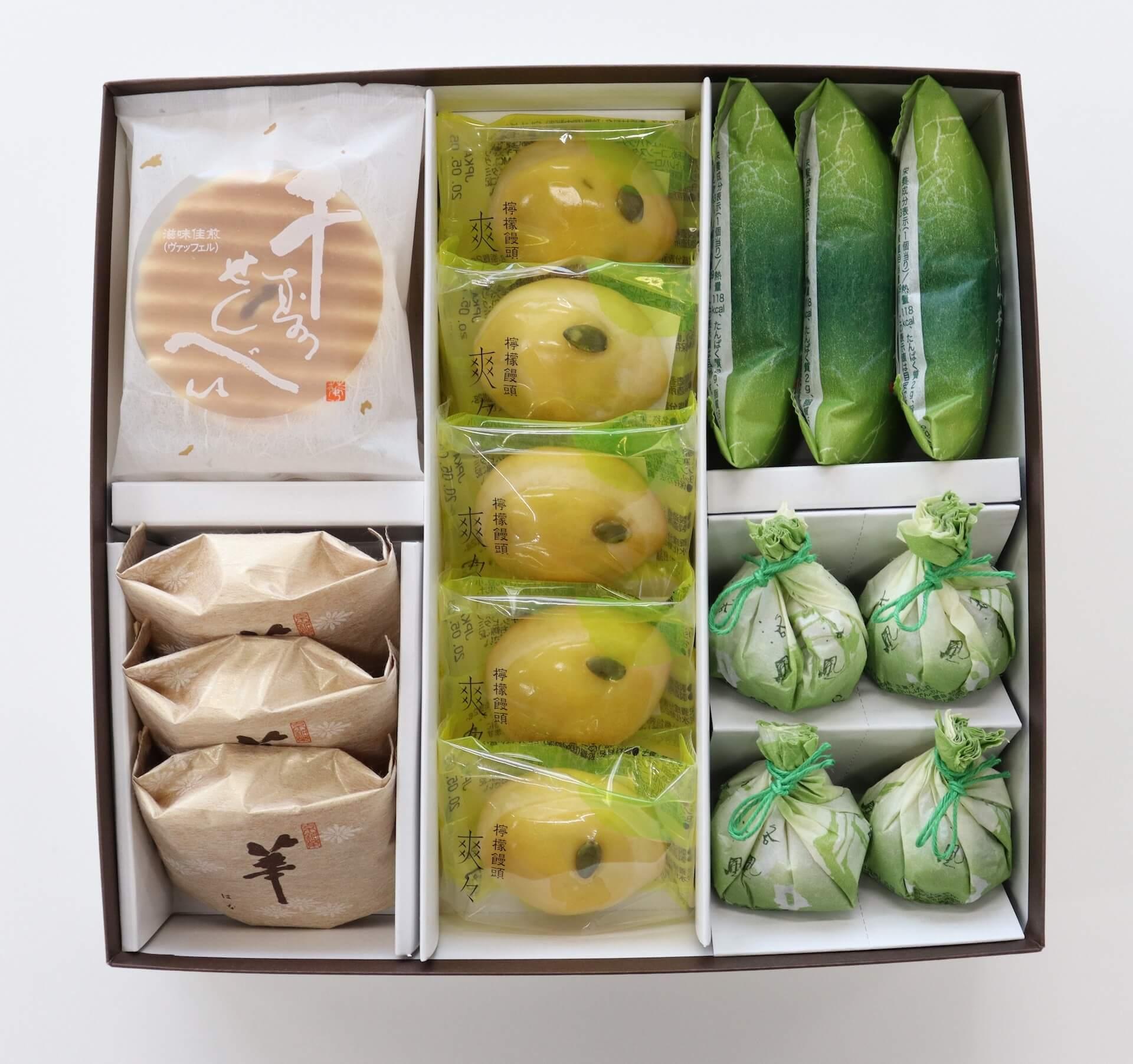 京都の初夏をおうちで楽しもう!鼓月から『初夏の和菓子 お取り寄せセット』がWEB&期間限定で登場 gourmet200423_kogetsu_02