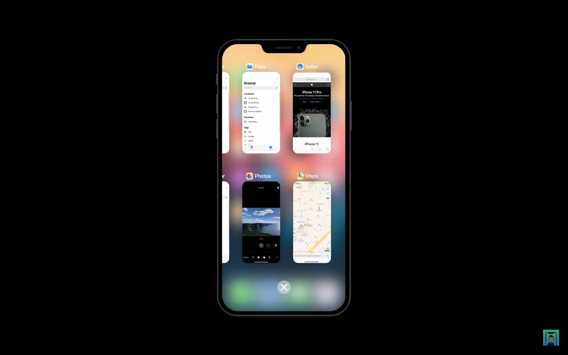 6月リリースと噂のiPhone用OS「iOS 14」はこうなる?iPhone 12と掛け合わせたコンセプト動画が公開 tech200423_ios14_9