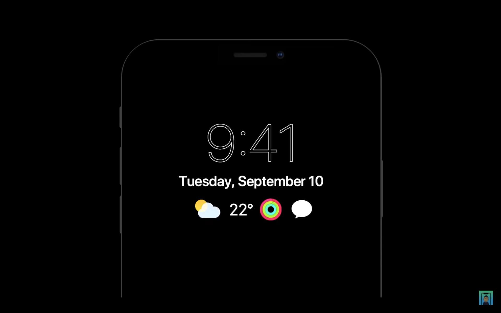 6月リリースと噂のiPhone用OS「iOS 14」はこうなる?iPhone 12と掛け合わせたコンセプト動画が公開 tech200423_ios14_11