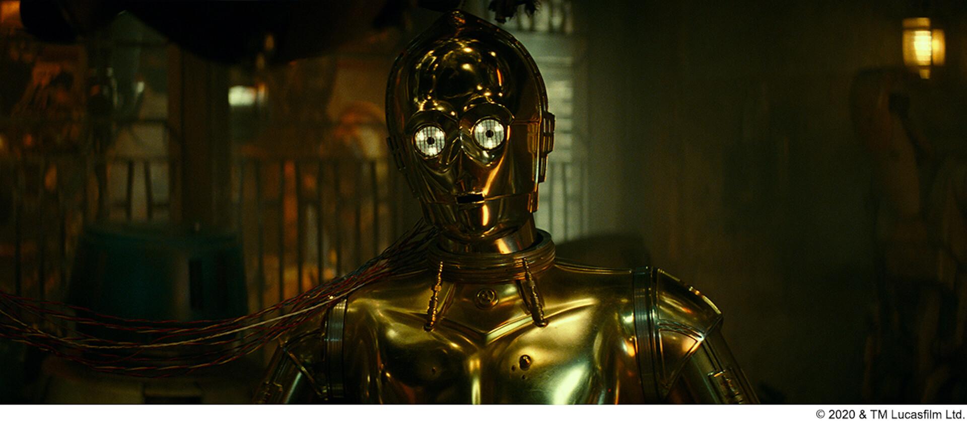 「スター・ウォーズ」シリーズをすべて渡り歩いたC-3PO俳優アンソニー・ダニエルズの舞台裏を収めた映像が解禁! film200424_starwars_4