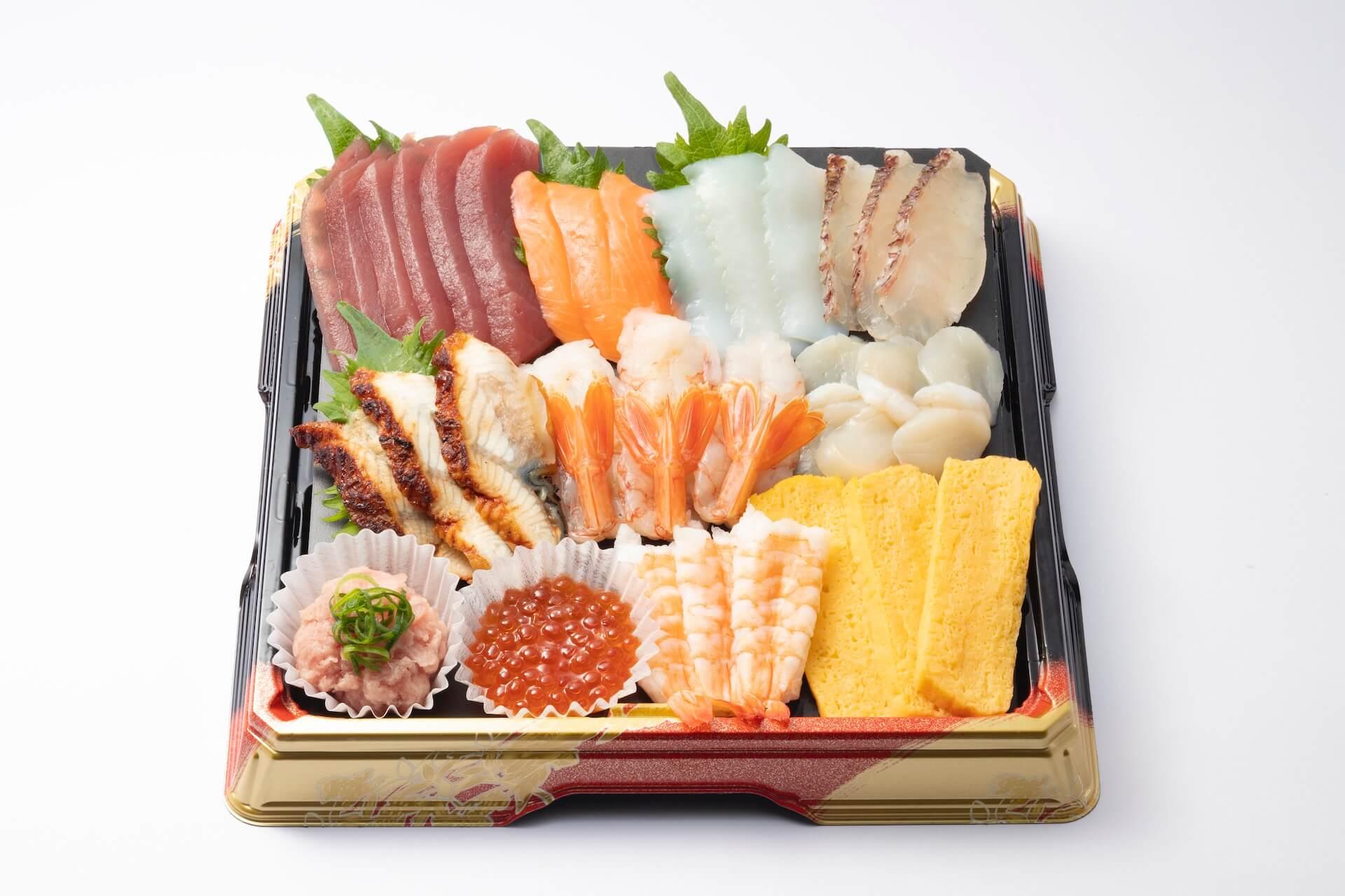 おうちで手作りはま寿司を楽しもう!人気・贅沢ネタ11種としゃり30貫がセットになった「おうちではま寿司セット」が登場 gourmet_200424_hamazushi_02