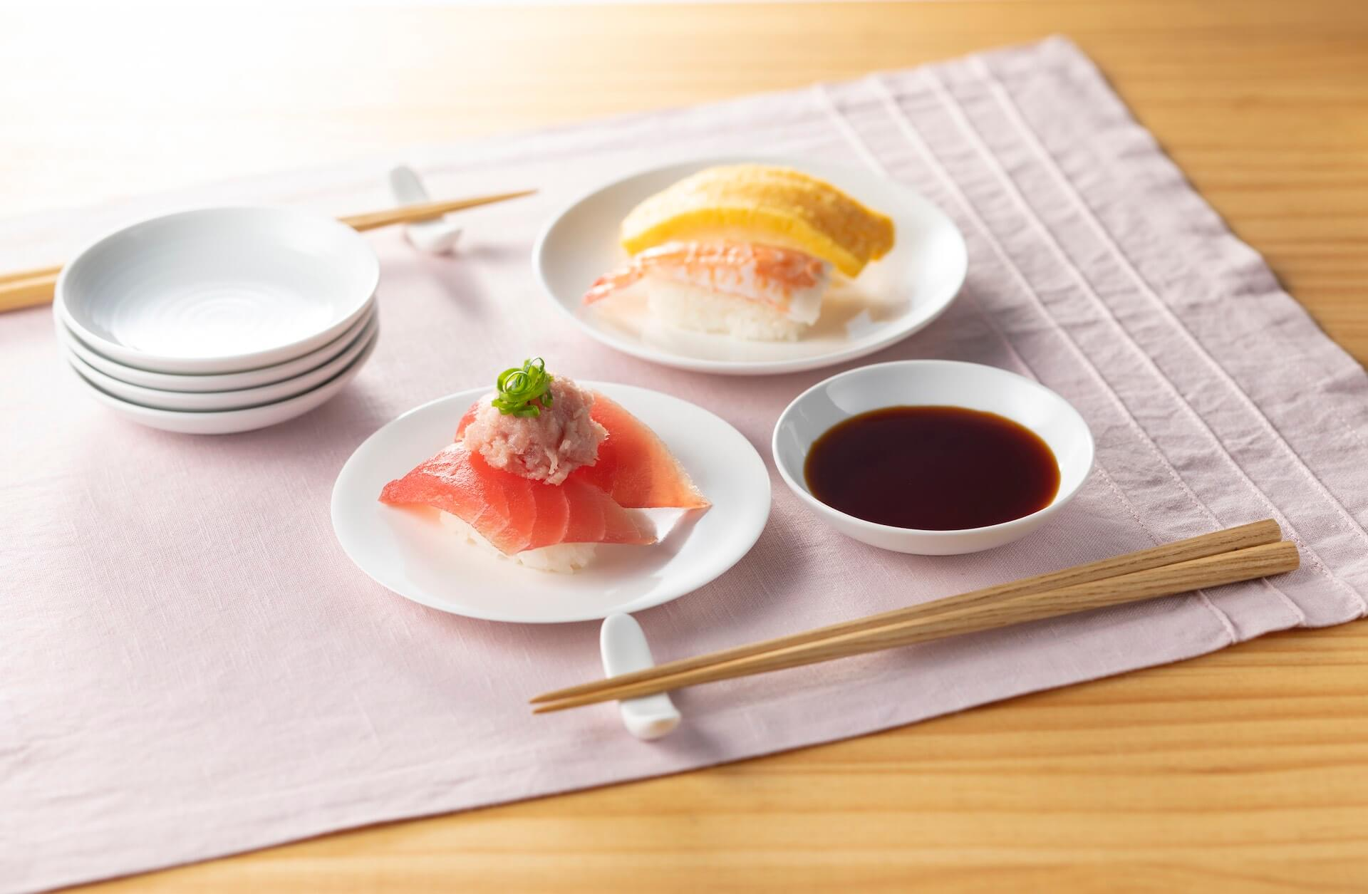 おうちで手作りはま寿司を楽しもう!人気・贅沢ネタ11種としゃり30貫がセットになった「おうちではま寿司セット」が登場 gourmet_200424_hamazushi_03