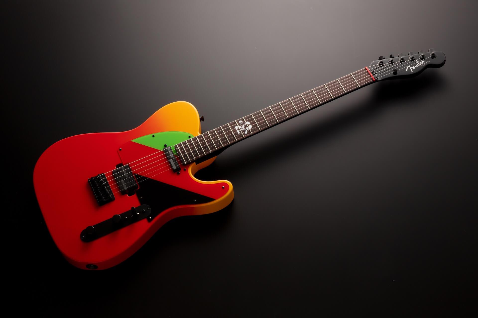 『シン・エヴァンゲリオン劇場版』アスカがエレキギターに!フェンダー特製TELECASTER(R)が年内数量限定生産で登場 ac200427_eva_telecaster_01