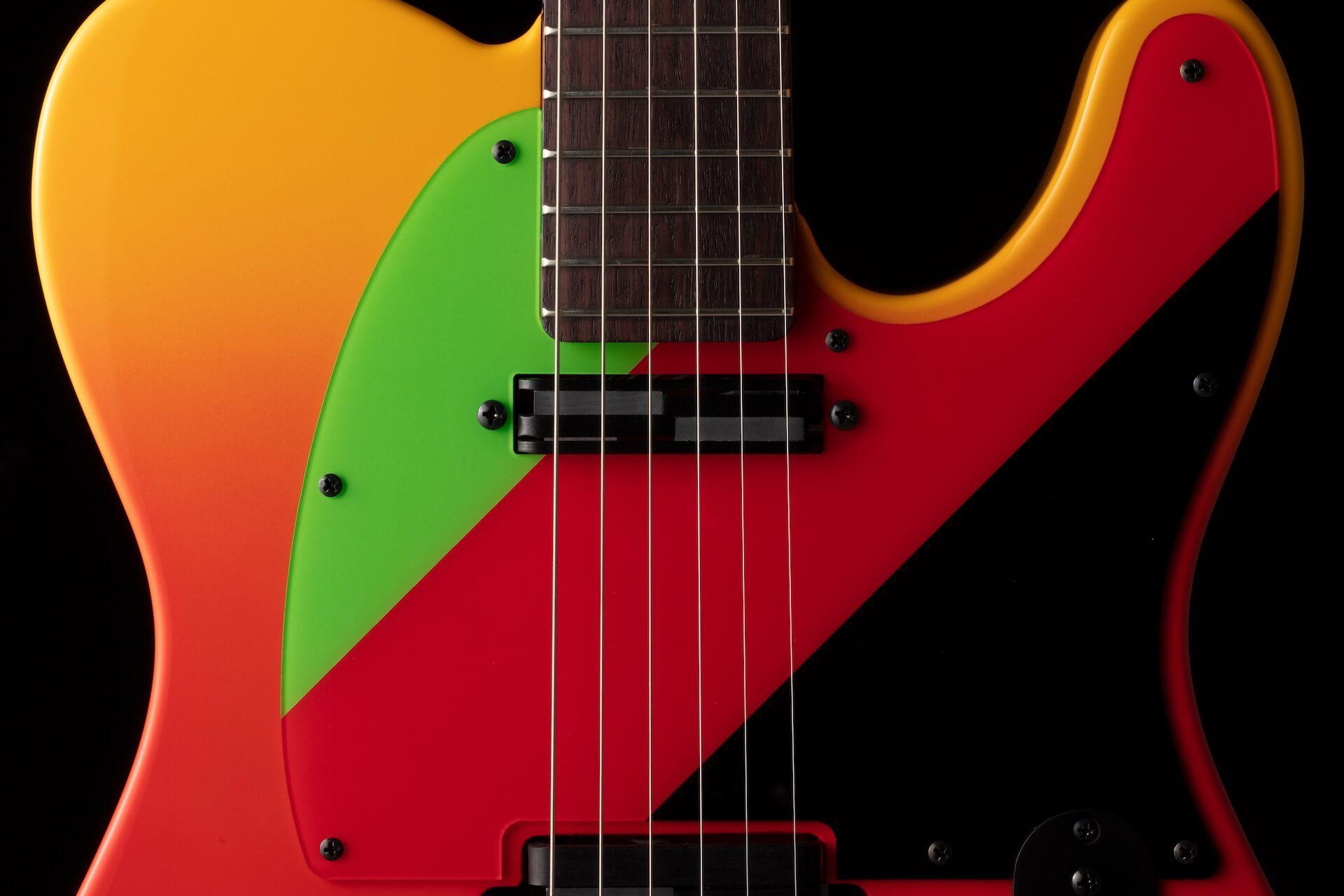 『シン・エヴァンゲリオン劇場版』アスカがエレキギターに!フェンダー特製TELECASTER(R)が年内数量限定生産で登場 ac200427_eva_telecaster_02