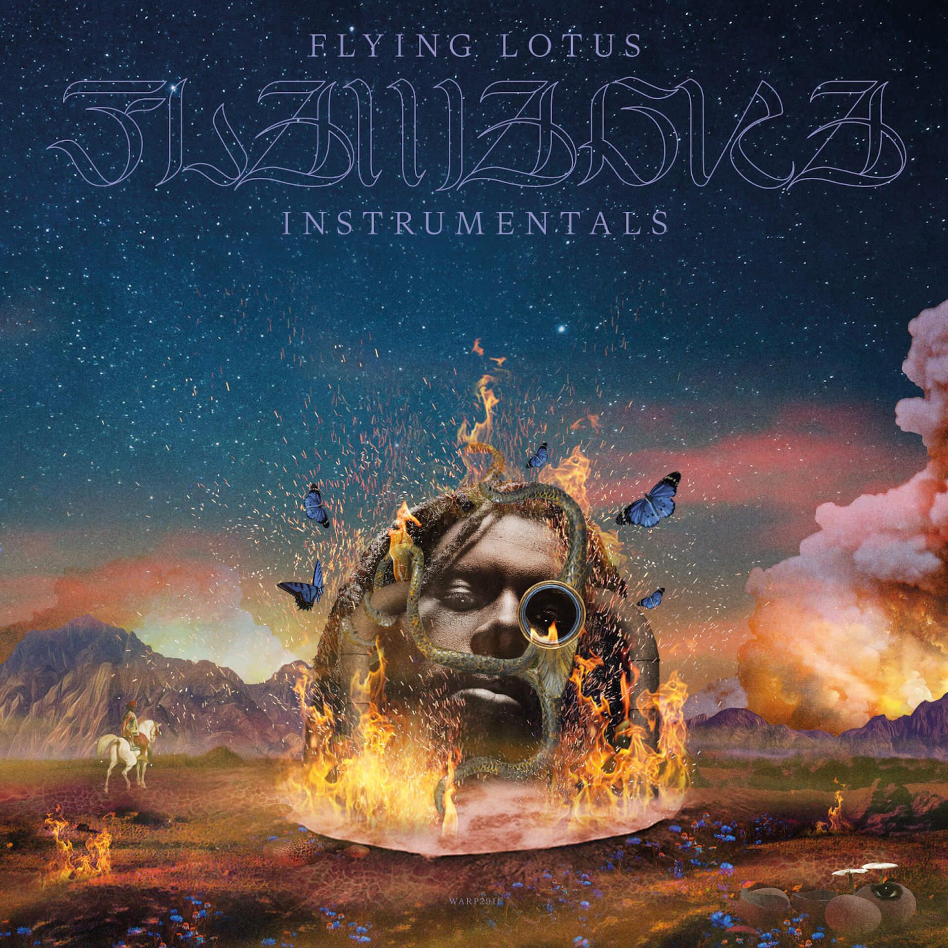 Flying Lotus『Flamagra』リリースから1年を経てインストゥルメンタル盤が発売決定!人気ロングTシャツやパーカーも復刻 music200428_flying_lotus_03