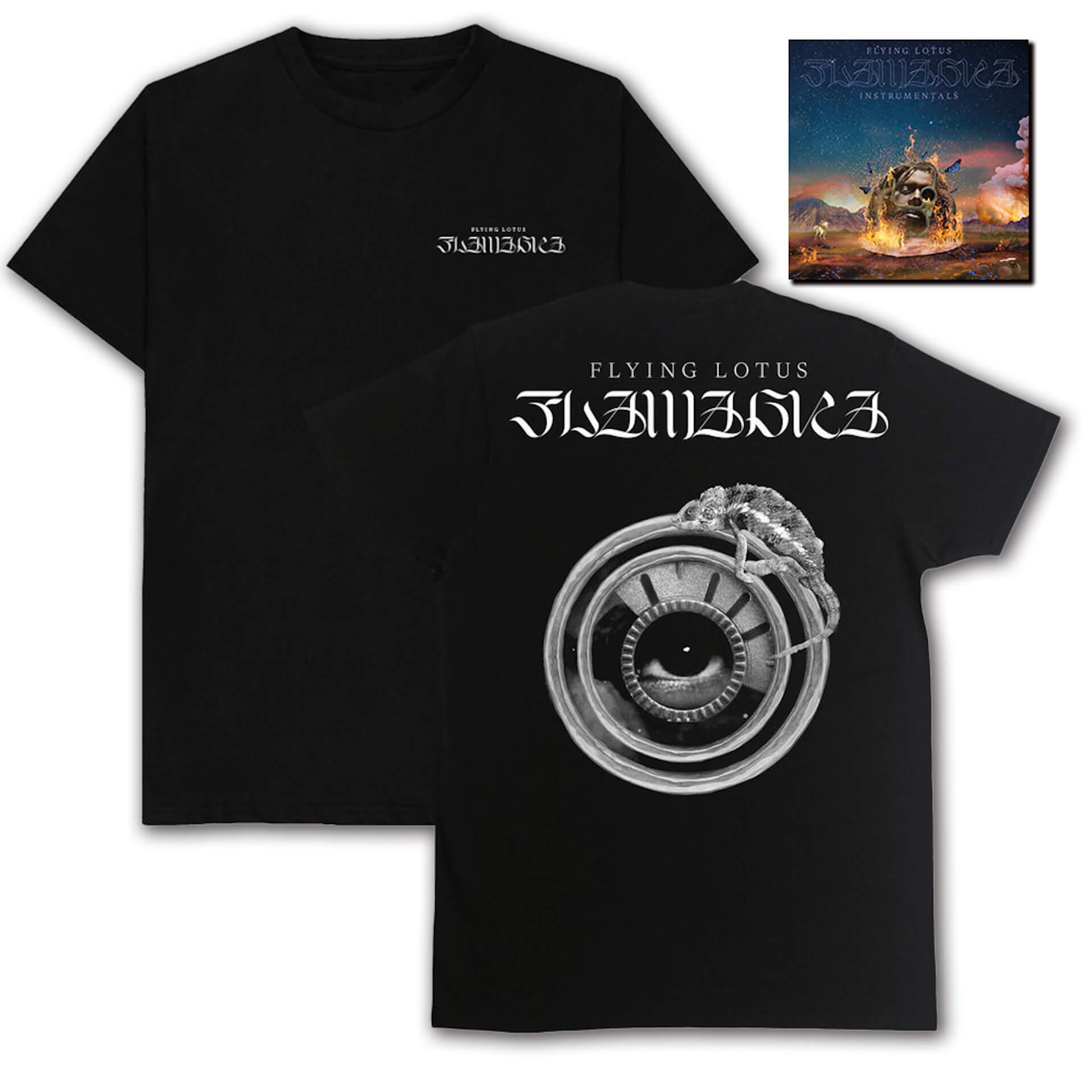 Flying Lotus『Flamagra』リリースから1年を経てインストゥルメンタル盤が発売決定!人気ロングTシャツやパーカーも復刻 music200428_flying_lotus_04