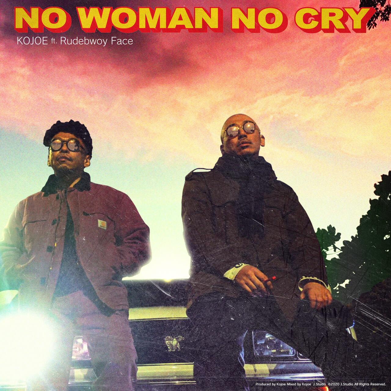 KOJOEが客演にRudebwoy Face、プロデュースにNARISKを迎えた「No Woman No Cry」をリリース|MV監督はIkuo Yamamoto music200430-kojoe-200430