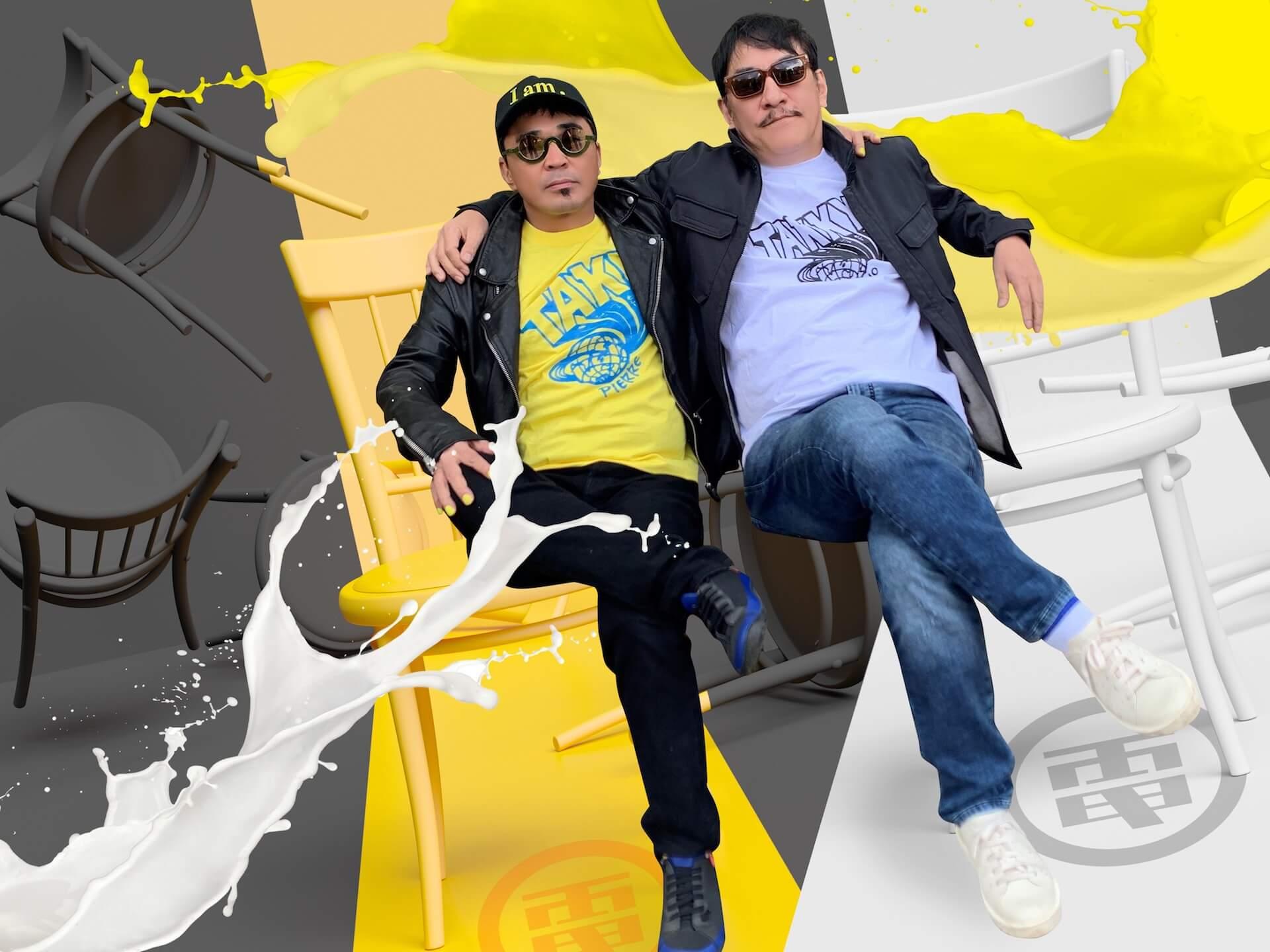 〈We will meet again〉──LIQUIDROOMが電気グルーヴ、坂本慎太郎とのコラボTシャツを受注販売開始 music200501-liquidroom-1-1