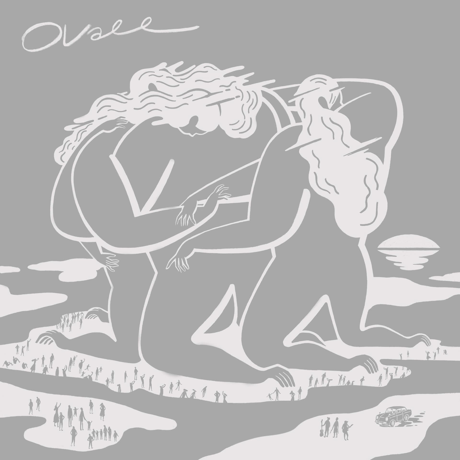Ovallの3rdアルバム『Ovall』のRework盤がリリース!WONKメンバー、Kan Sano、Michael Kaneko、Nenashiが参加 music200502_ovall_1