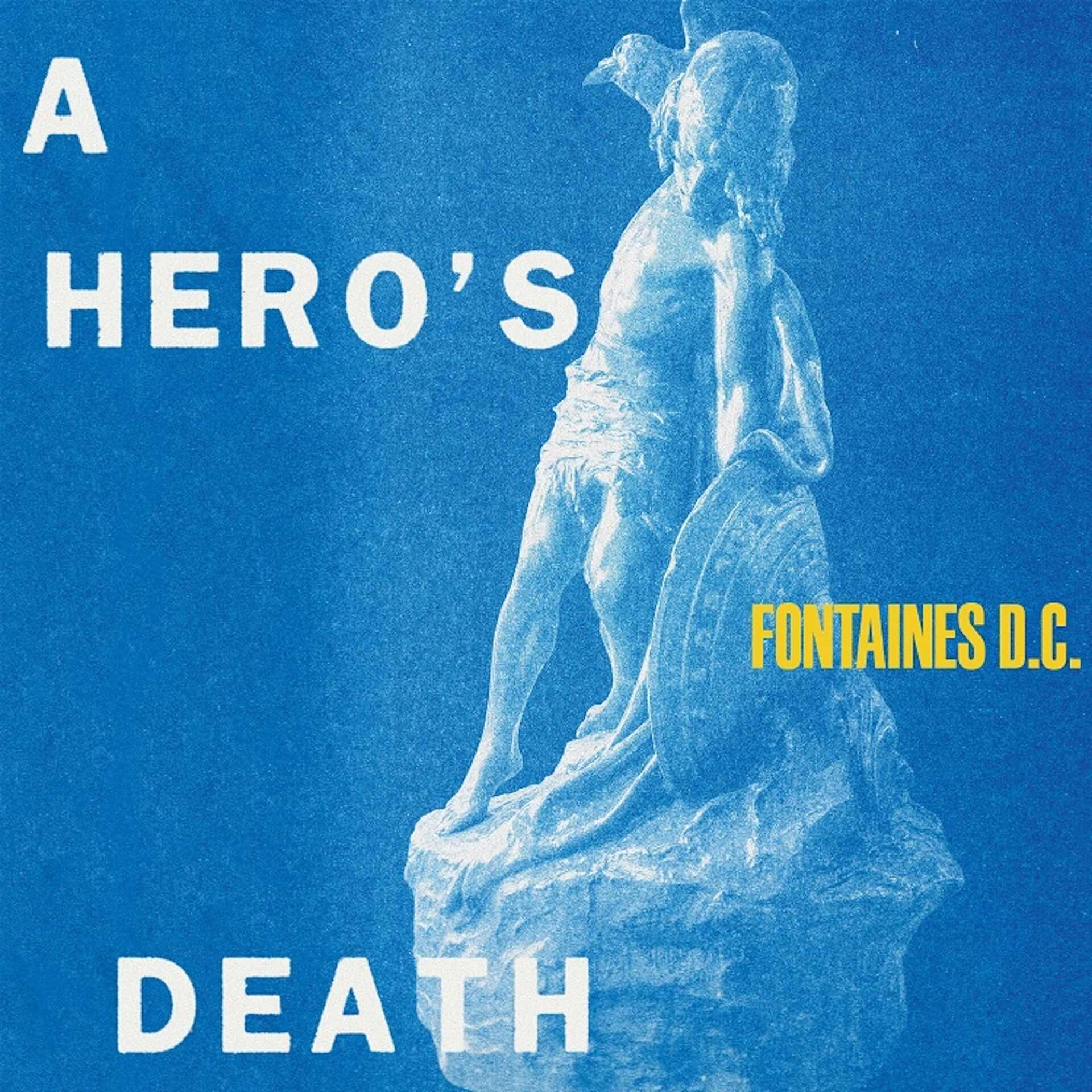 <FUJI ROCK FESTIVAL '20>にも出演するFontaines D.C.の新アルバム『A Hero's Death』がリリース決定!新曲のMVも公開 music200507_fontainesdc_1-1920x1920