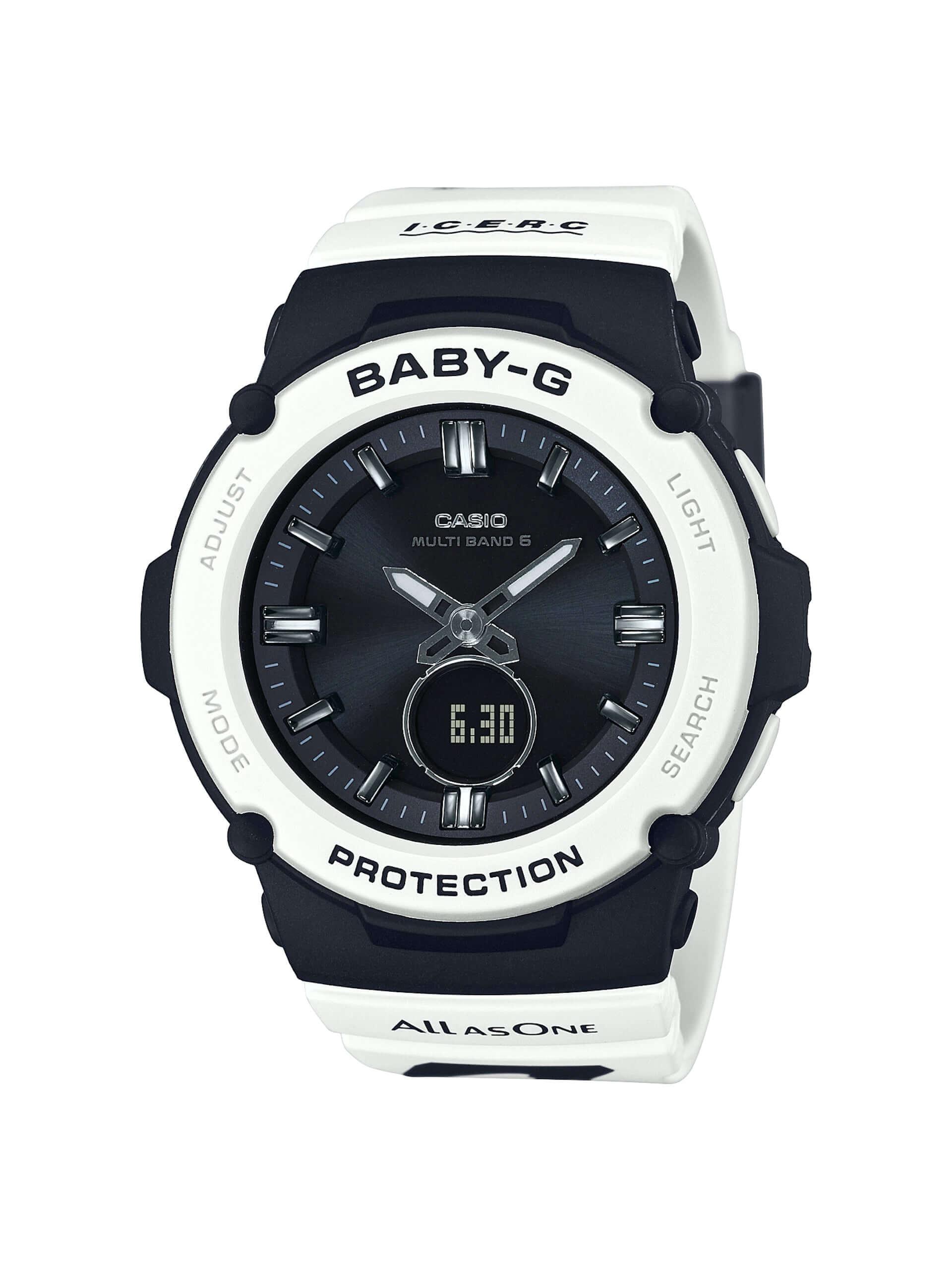 """CASIO「G-SHOCK」「BABY-G」に""""シャチ""""をモチーフにしたニューデザインが登場!アイサーチ・ジャパンとのコラボモデル新作が発売決定 tech200511_casio_watch_1-1920x2560"""