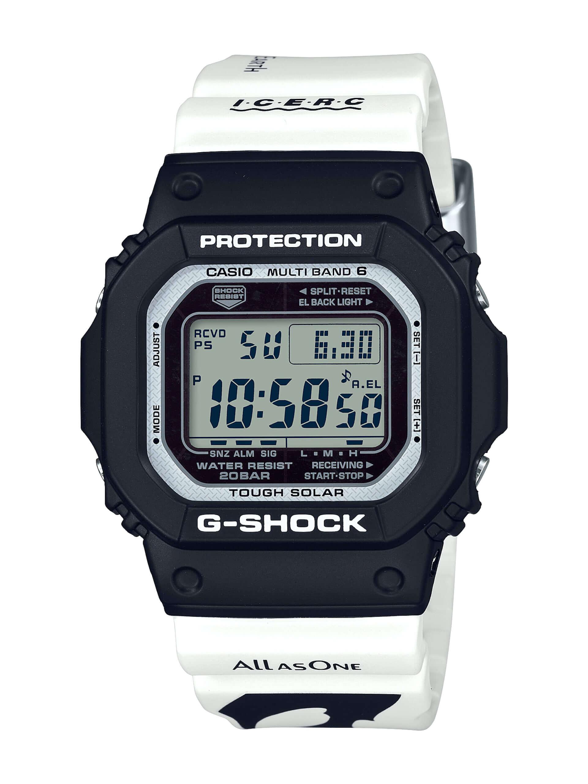 """CASIO「G-SHOCK」「BABY-G」に""""シャチ""""をモチーフにしたニューデザインが登場!アイサーチ・ジャパンとのコラボモデル新作が発売決定 tech200511_casio_watch_2-1920x2560"""