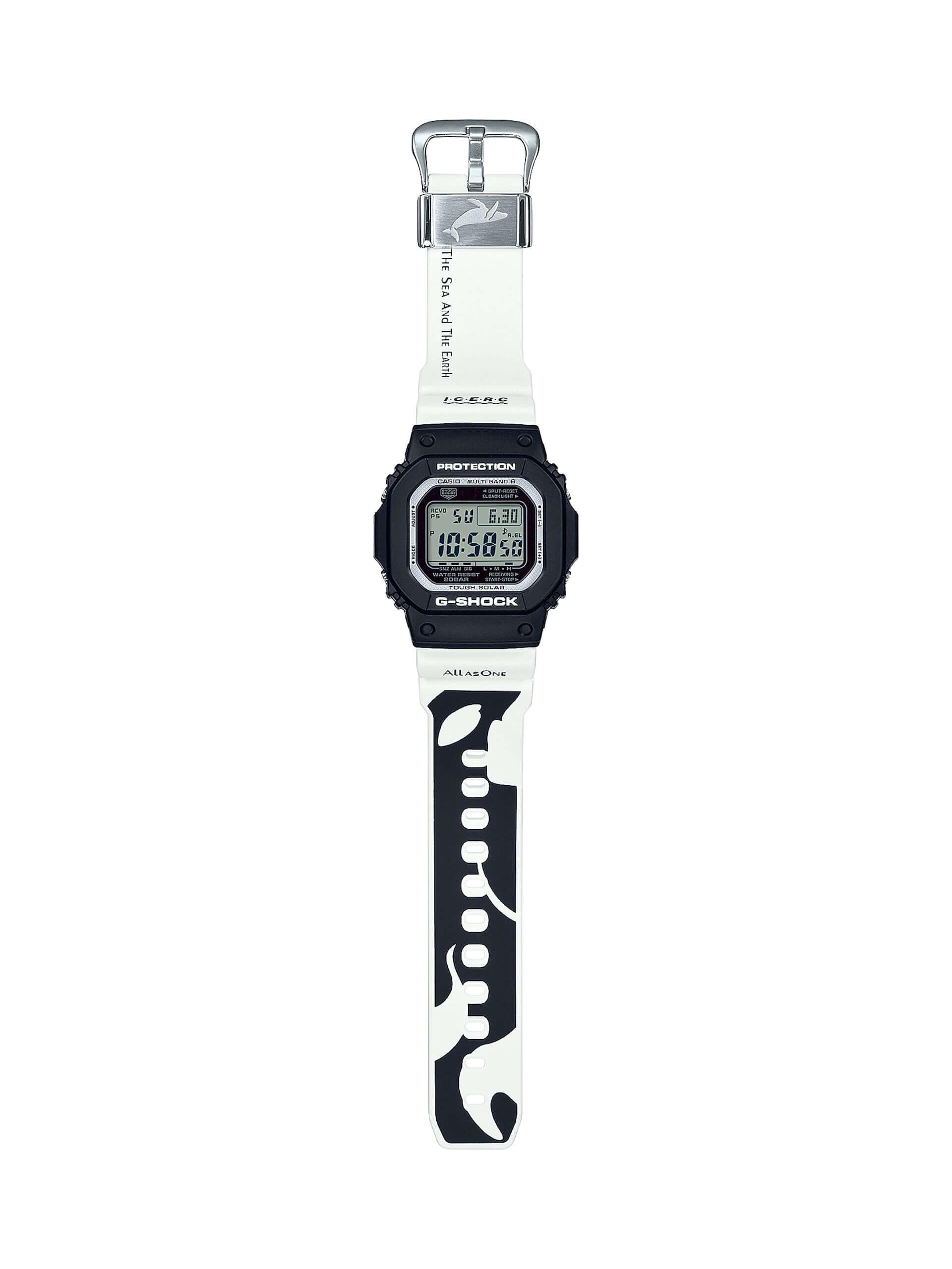 """CASIO「G-SHOCK」「BABY-G」に""""シャチ""""をモチーフにしたニューデザインが登場!アイサーチ・ジャパンとのコラボモデル新作が発売決定 tech200511_casio_watch_8-1920x2560"""
