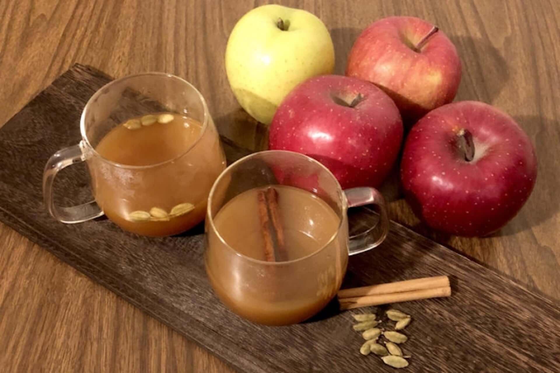 100%りんごジュースで作る超簡単&写真映えレシピ3選|Instagramでも話題沸騰中の「#おうちカフェ」を贅沢に gourmet200514_ouchi_cafe_4-1920x1279