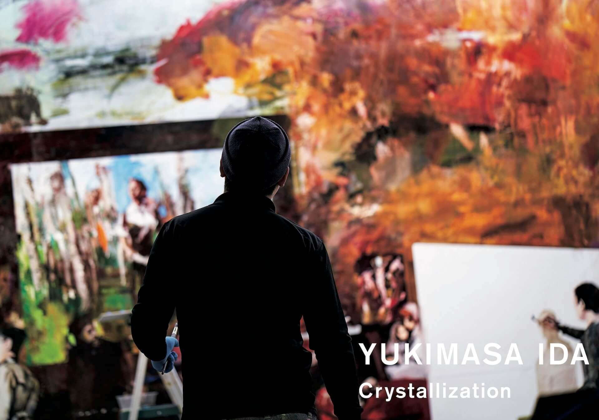 アンディ・ウォーホルの肖像画などを描く井田幸昌の作品集が美術出版社より刊行決定|井田「生きて出会う事象を残したい」 art200514_crystallization_4-1920x1348