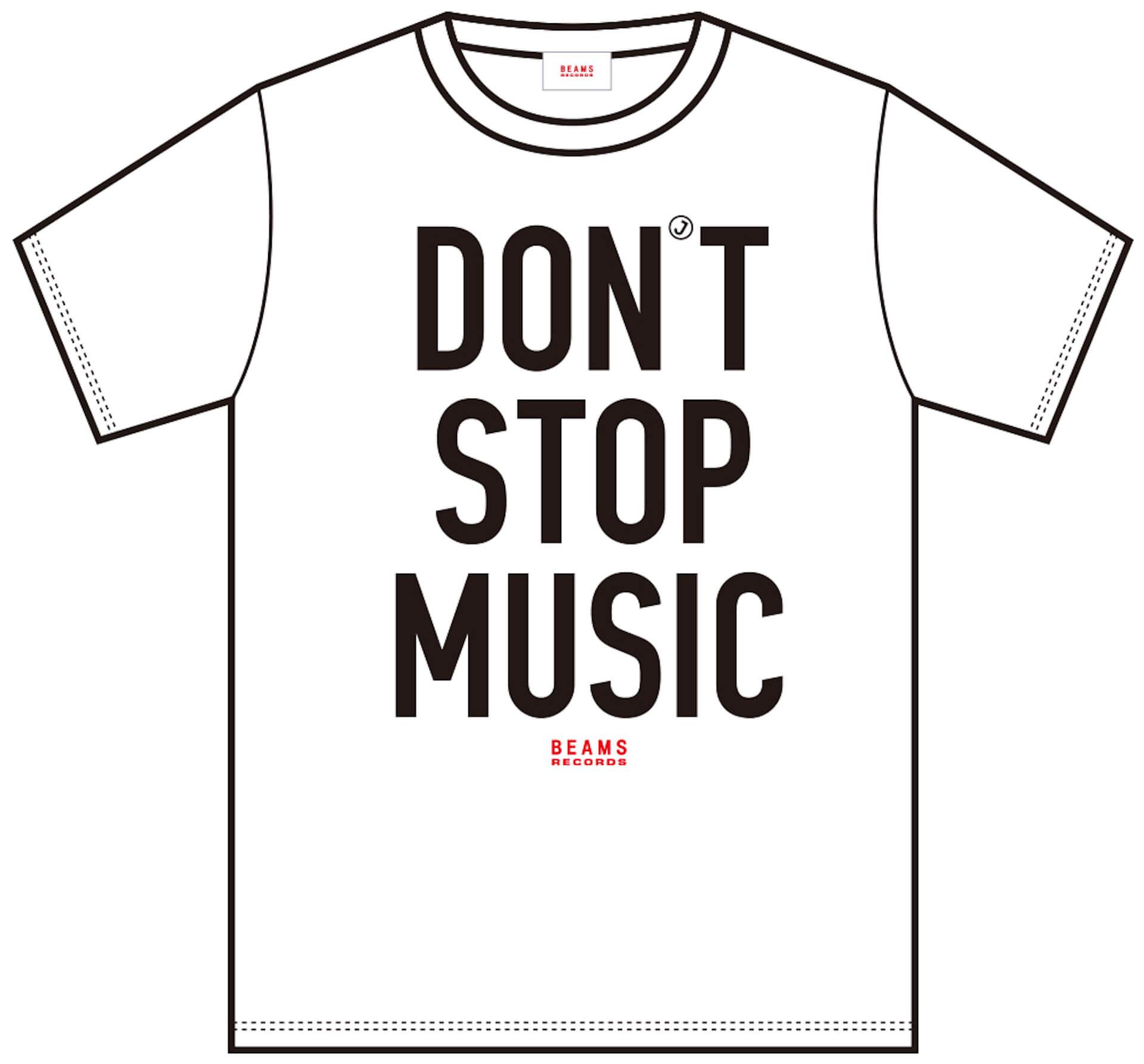 J-WAVE「#音楽を止めるな」BEAMS RECORDS協力のもと、ライブハウスを支援するオリジナルTシャツが受注販売開始! lf200515_jwave_beamsrecords_tshirts_01