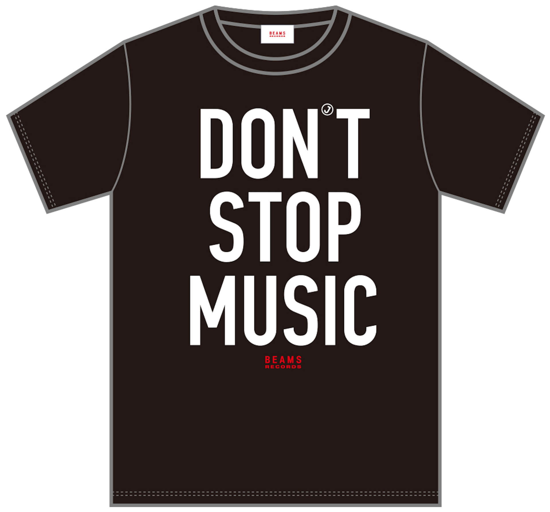 J-WAVE「#音楽を止めるな」BEAMS RECORDS協力のもと、ライブハウスを支援するオリジナルTシャツが受注販売開始! lf200515_jwave_beamsrecords_tshirts_02