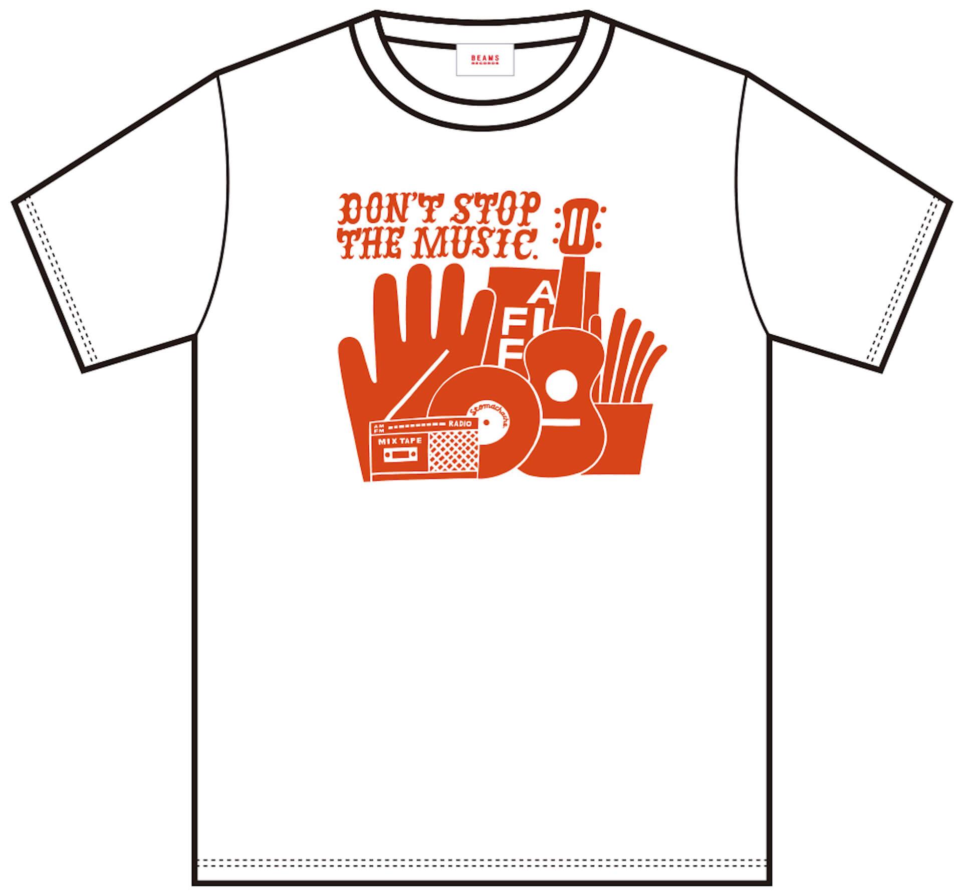 J-WAVE「#音楽を止めるな」BEAMS RECORDS協力のもと、ライブハウスを支援するオリジナルTシャツが受注販売開始! lf200515_jwave_beamsrecords_tshirts_03