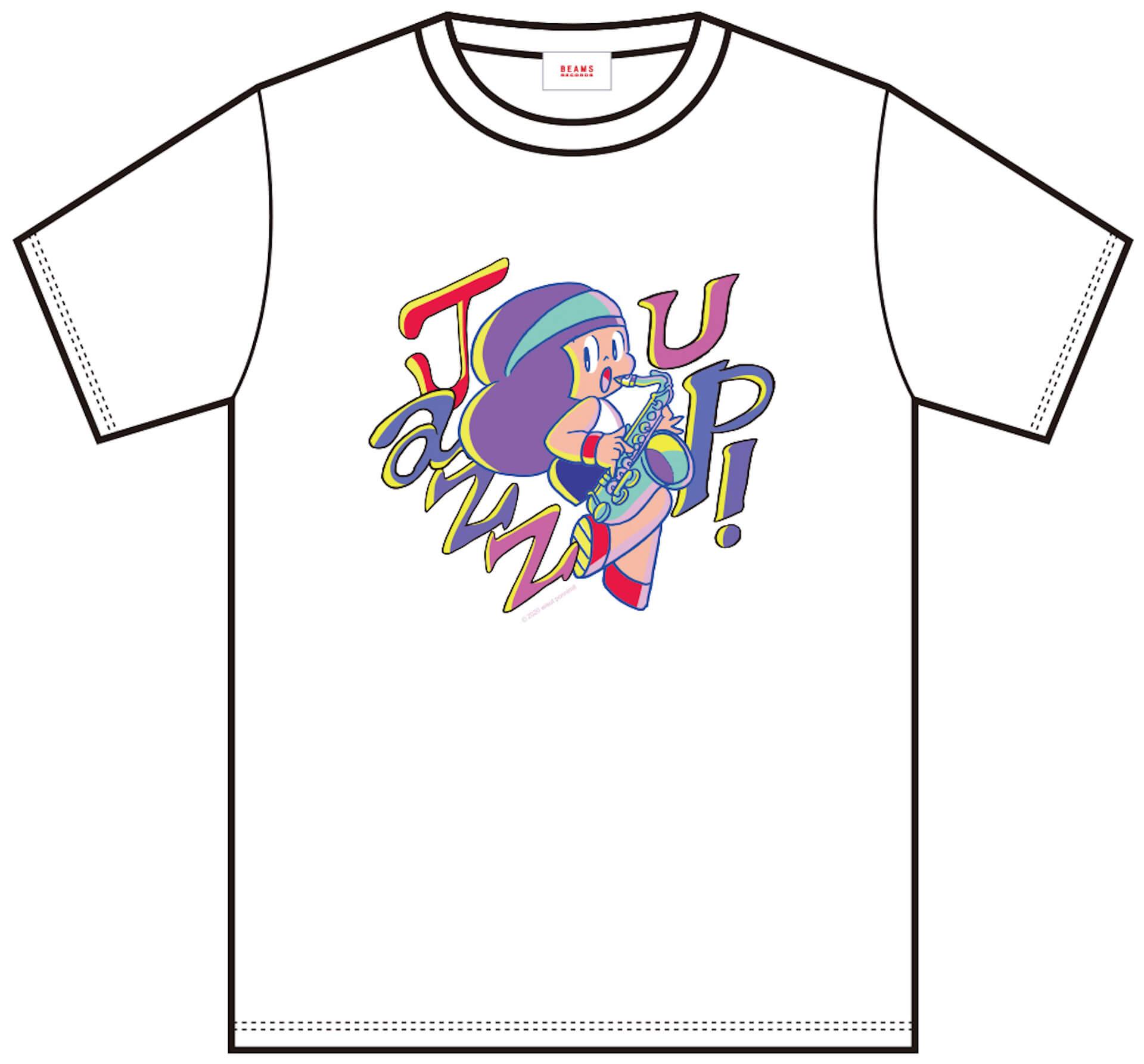 J-WAVE「#音楽を止めるな」BEAMS RECORDS協力のもと、ライブハウスを支援するオリジナルTシャツが受注販売開始! lf200515_jwave_beamsrecords_tshirts_05