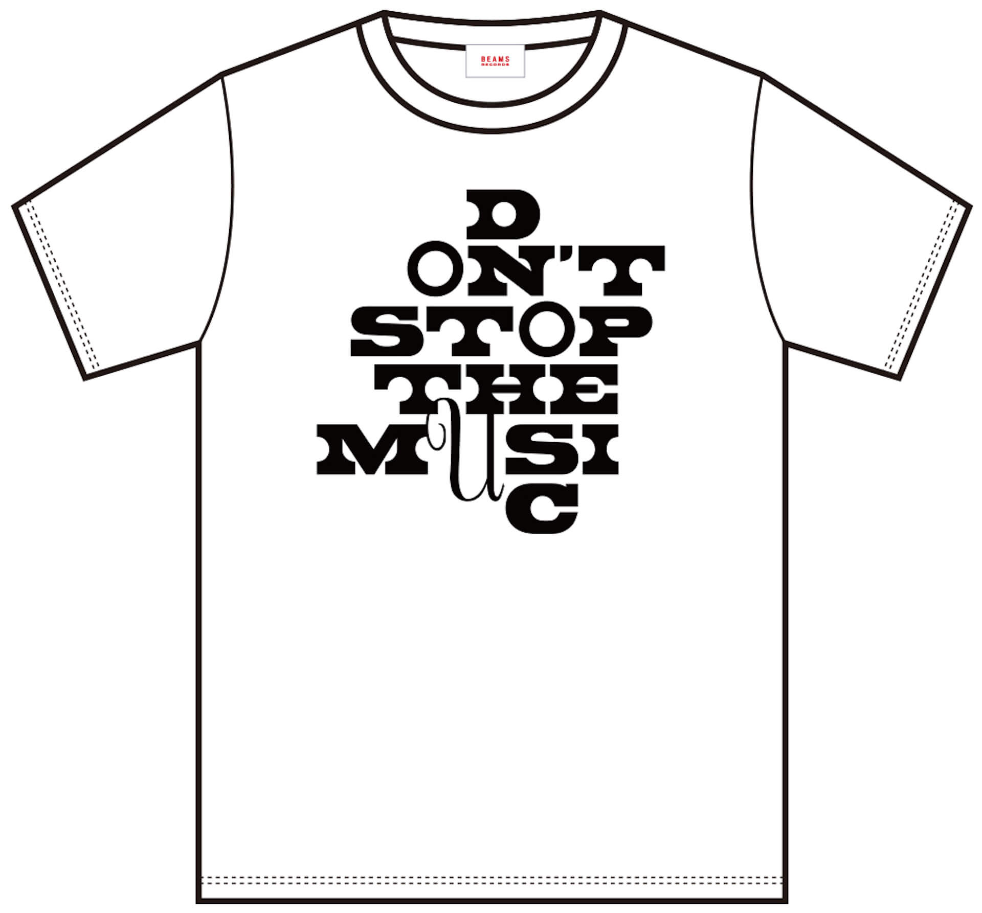 J-WAVE「#音楽を止めるな」BEAMS RECORDS協力のもと、ライブハウスを支援するオリジナルTシャツが受注販売開始! lf200515_jwave_beamsrecords_tshirts_07