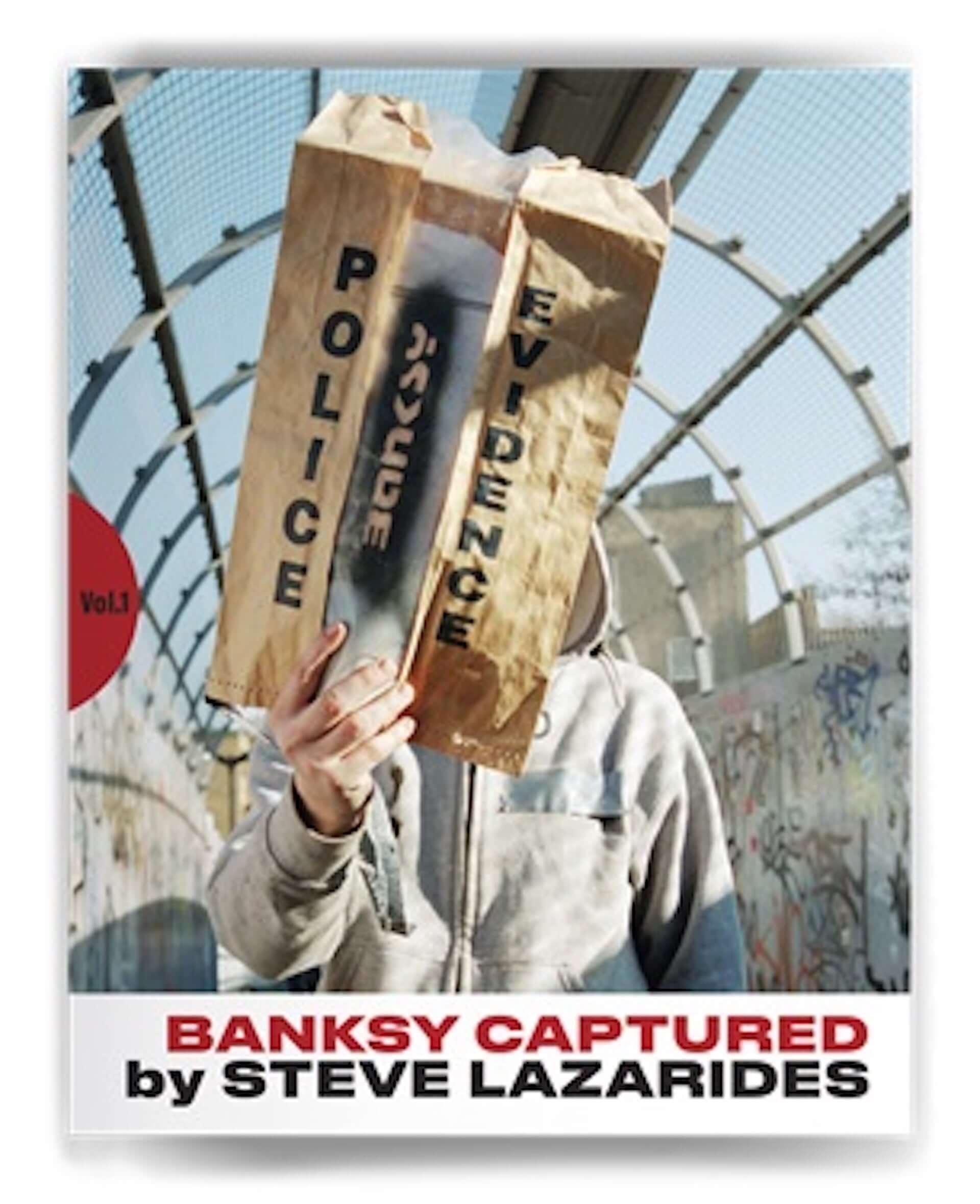 バンクシーの姿をとらえた20,000部限定の作品集『BANKSY CAPTURED』が発売|作品プレゼントキャンペーンも art200515_banksy_captured_3-1920x2359