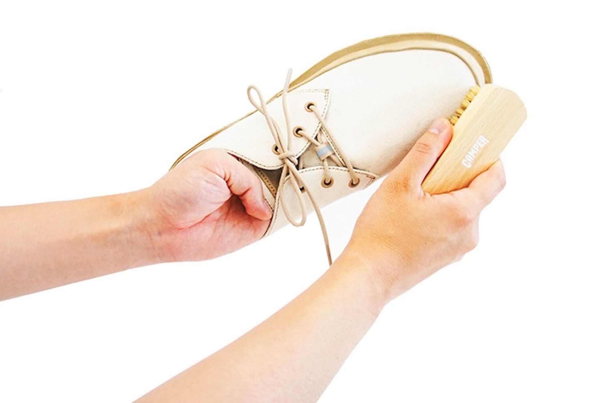 おうち時間にCAMPERのケアグッズを使って、毎日履く靴をお手入れしよう!自宅でできる簡単お手入れ方法をご紹介 lf200518_camper_13