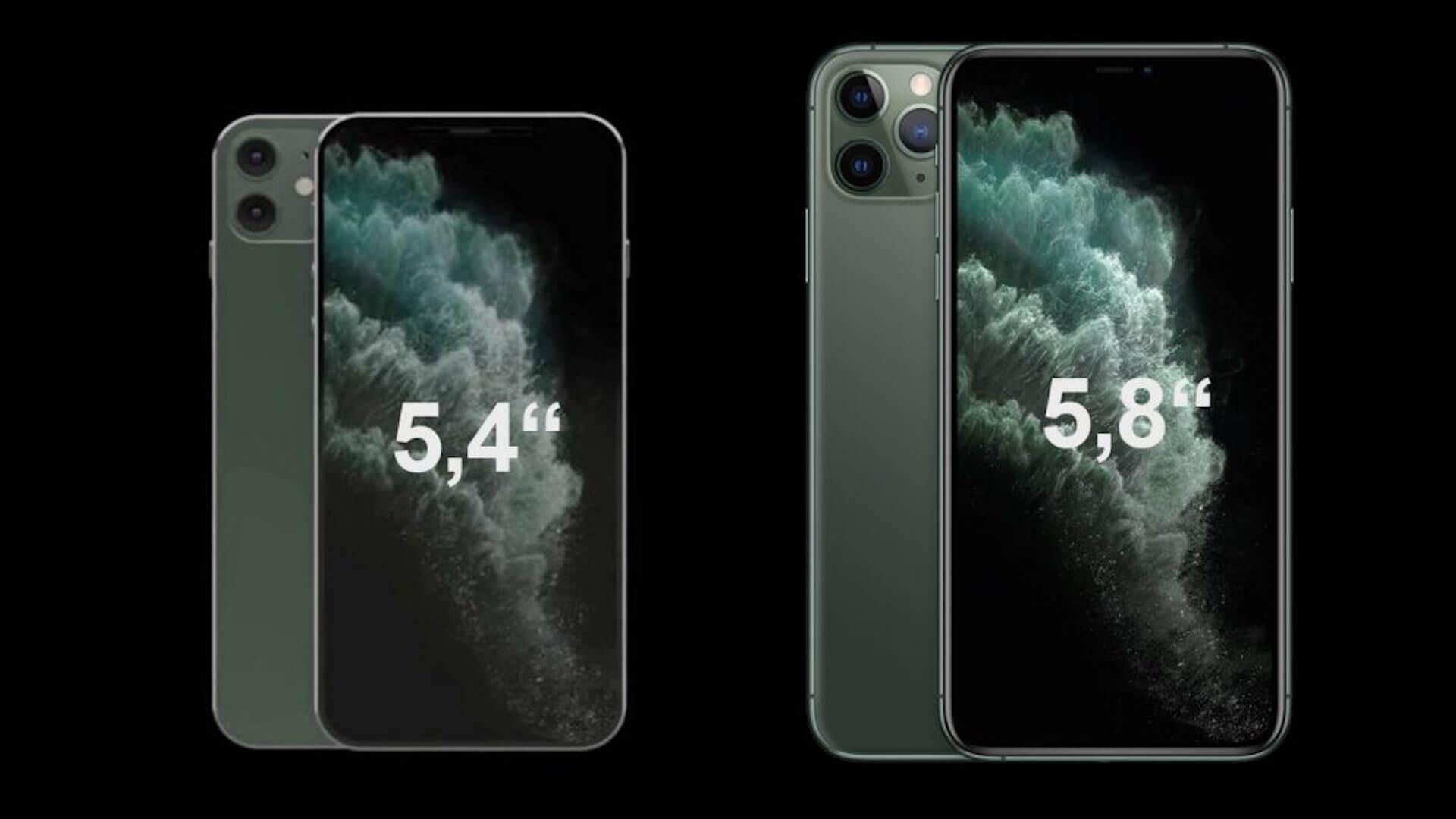 iPhone 12 miniのサイズはこれぐらい?iPhone 11 Proとの比較レンダリング画像が公開 tech200519_iphone12_1