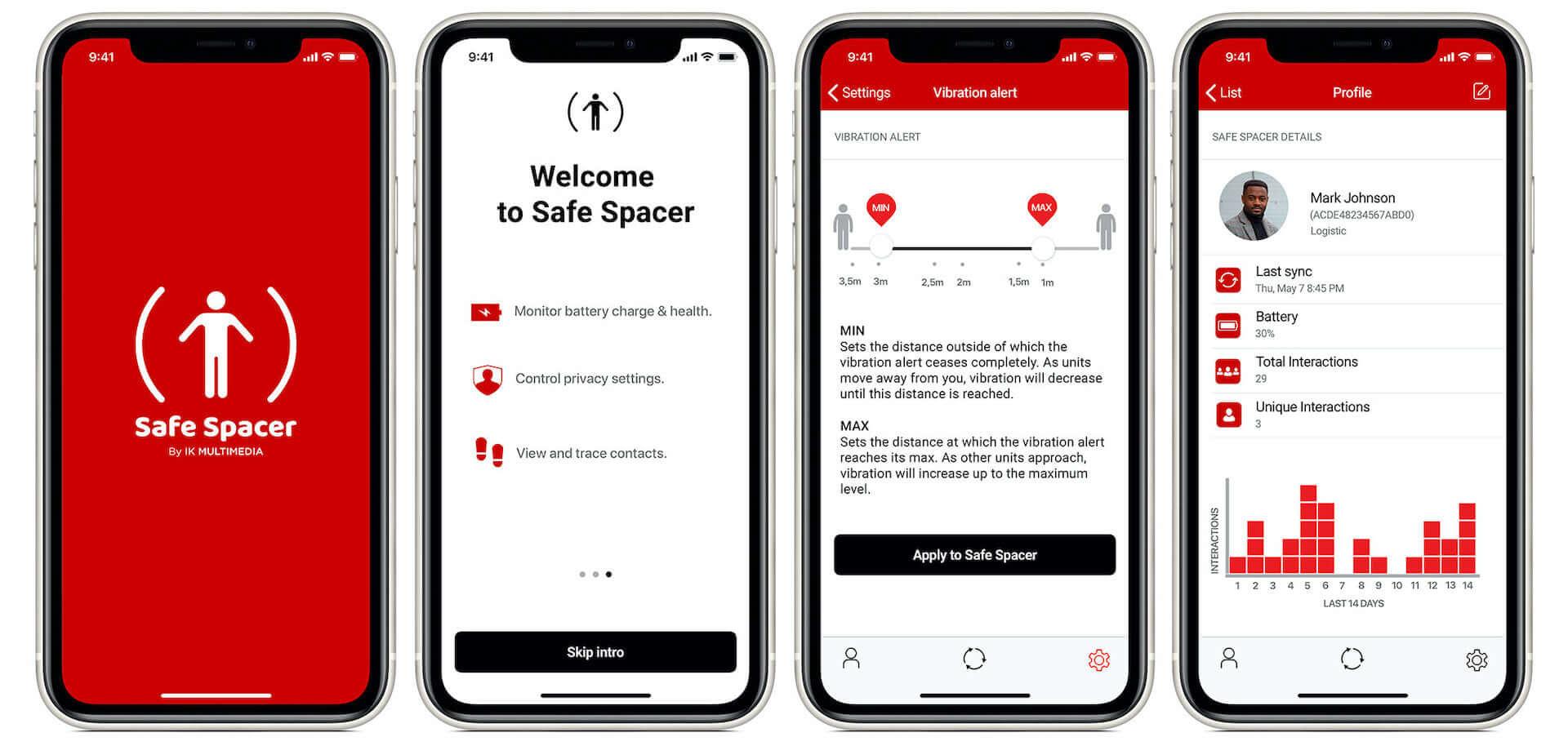 ソーシャル・ディスタンスを維持できるウェアラブル・デバイス『Safe Spacer(TM)』が発表! tech200521_wearablemonitor_05-1920x914