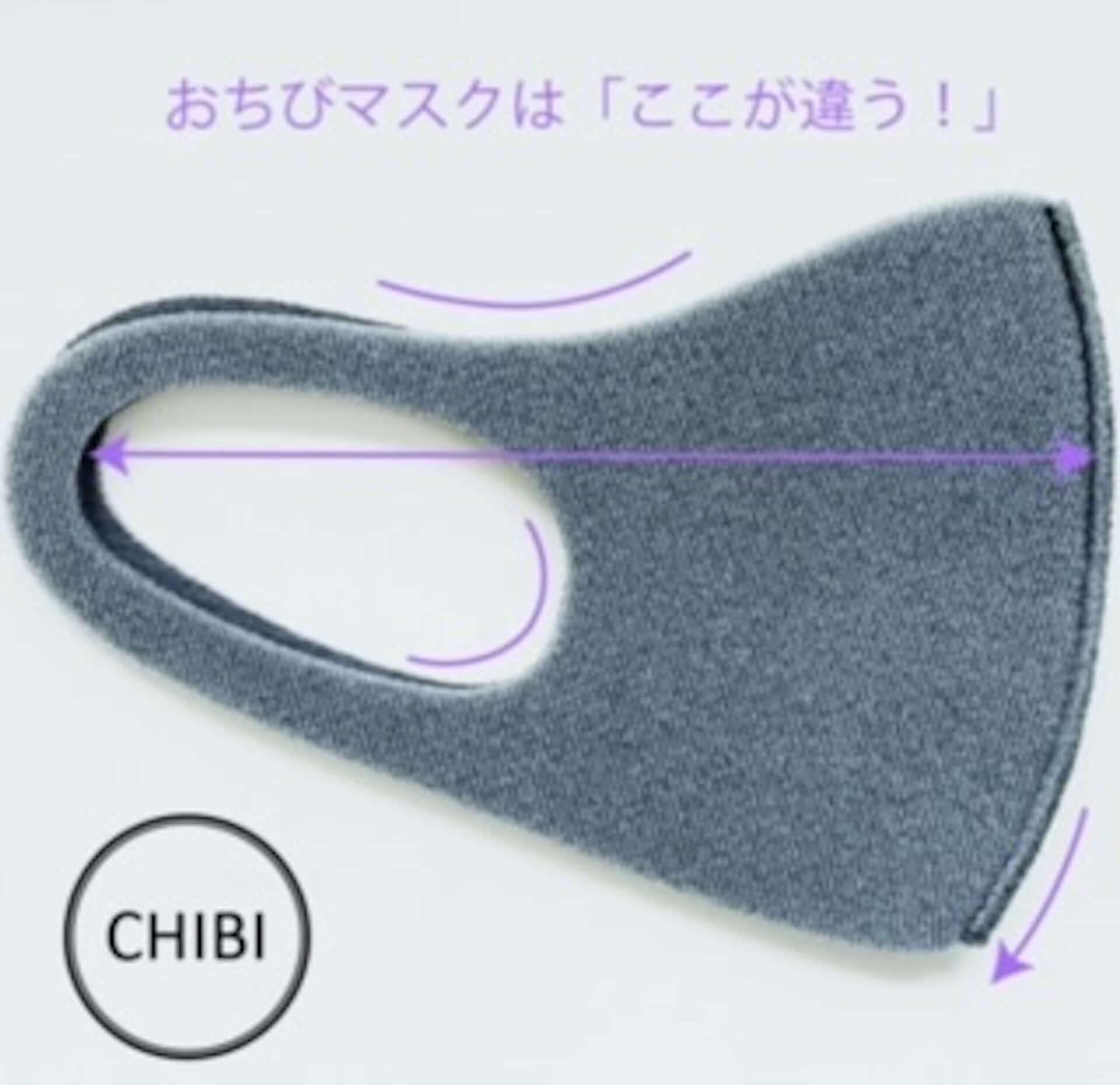洗える小さめマスク『OCHIBIマスク』がForemos_marcoから登場|小柄・小顔な女性におすすめ lf200521_ochibi_mask_4-1920x1860