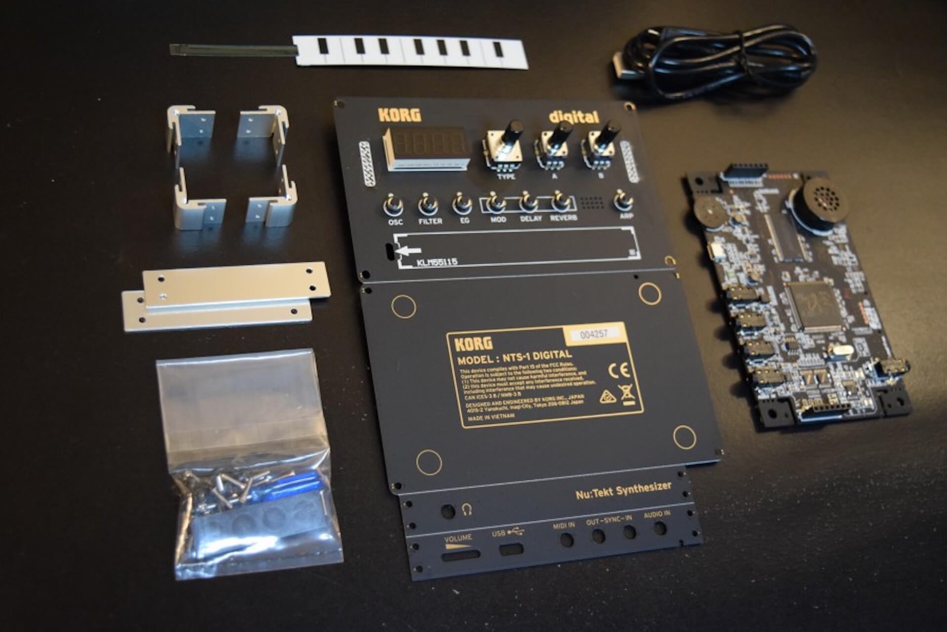 組み立て式DIYシンセ・キット、コルグ『Nu:Tekt NTS-1 Digital Kit』のサウンドと魅力 music200522_03