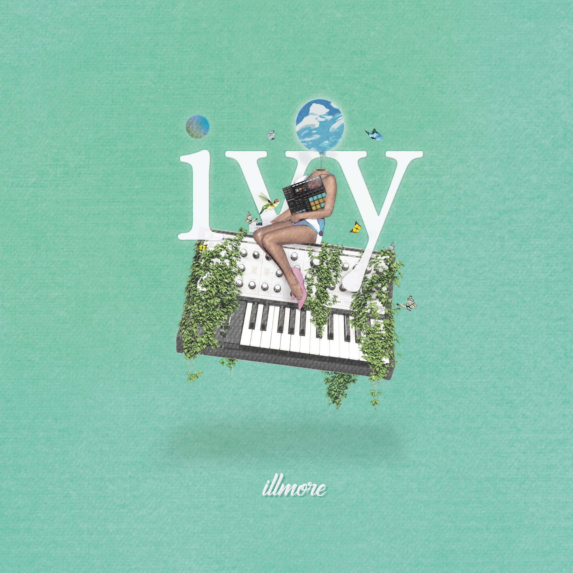 〈Chilly Source〉所属のillmoreが、1stアルバム『ivy』の全楽曲のインストを収録した『beats album』をリリース! music200525_illmore_02-1920x1920