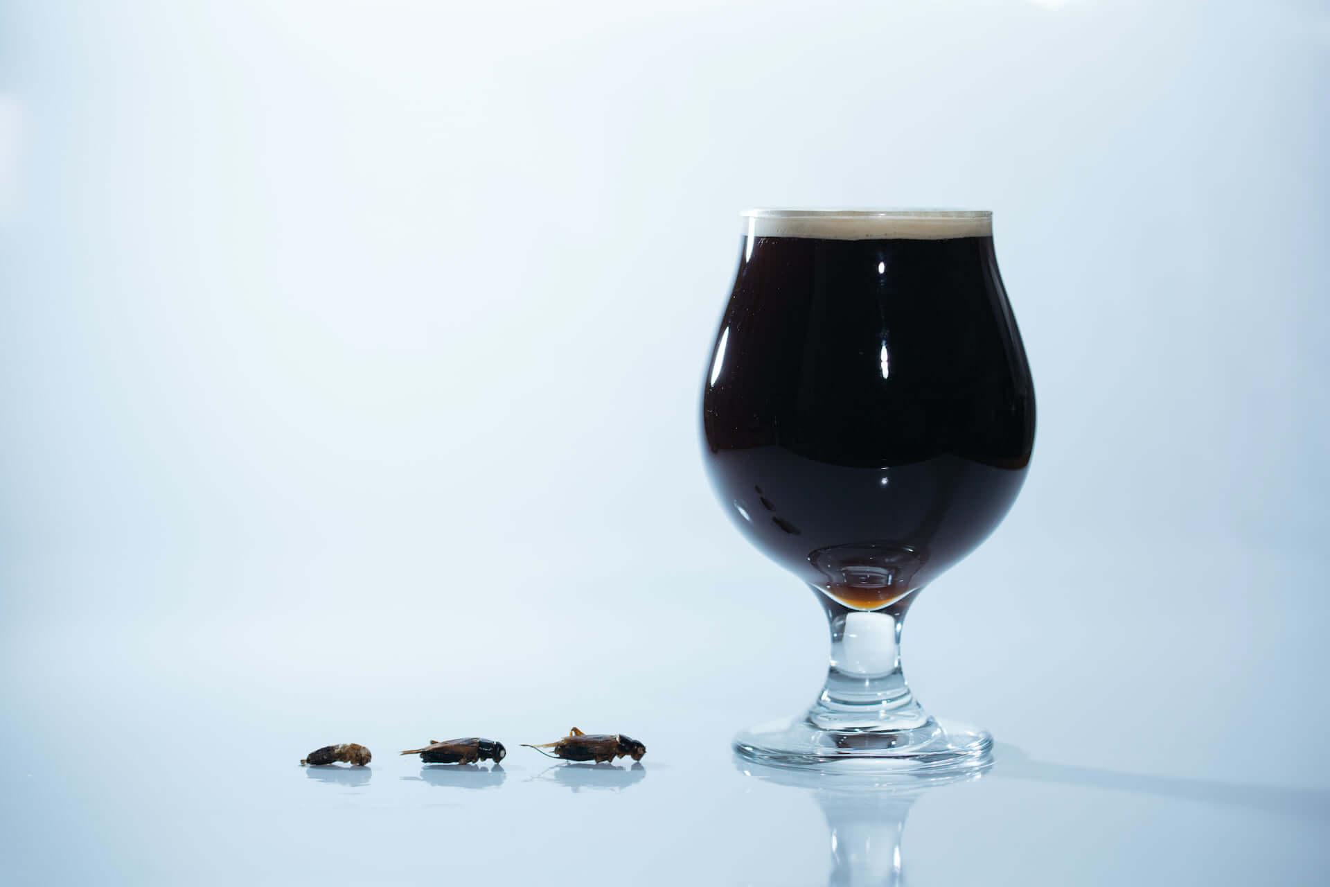 コオロギを原料に使用したクラフトビール『コオロギビール』がクラウドファンディングにて発売開始!オンライン飲み会にも gourmet200525_cricket_darkale_9-1920x1280