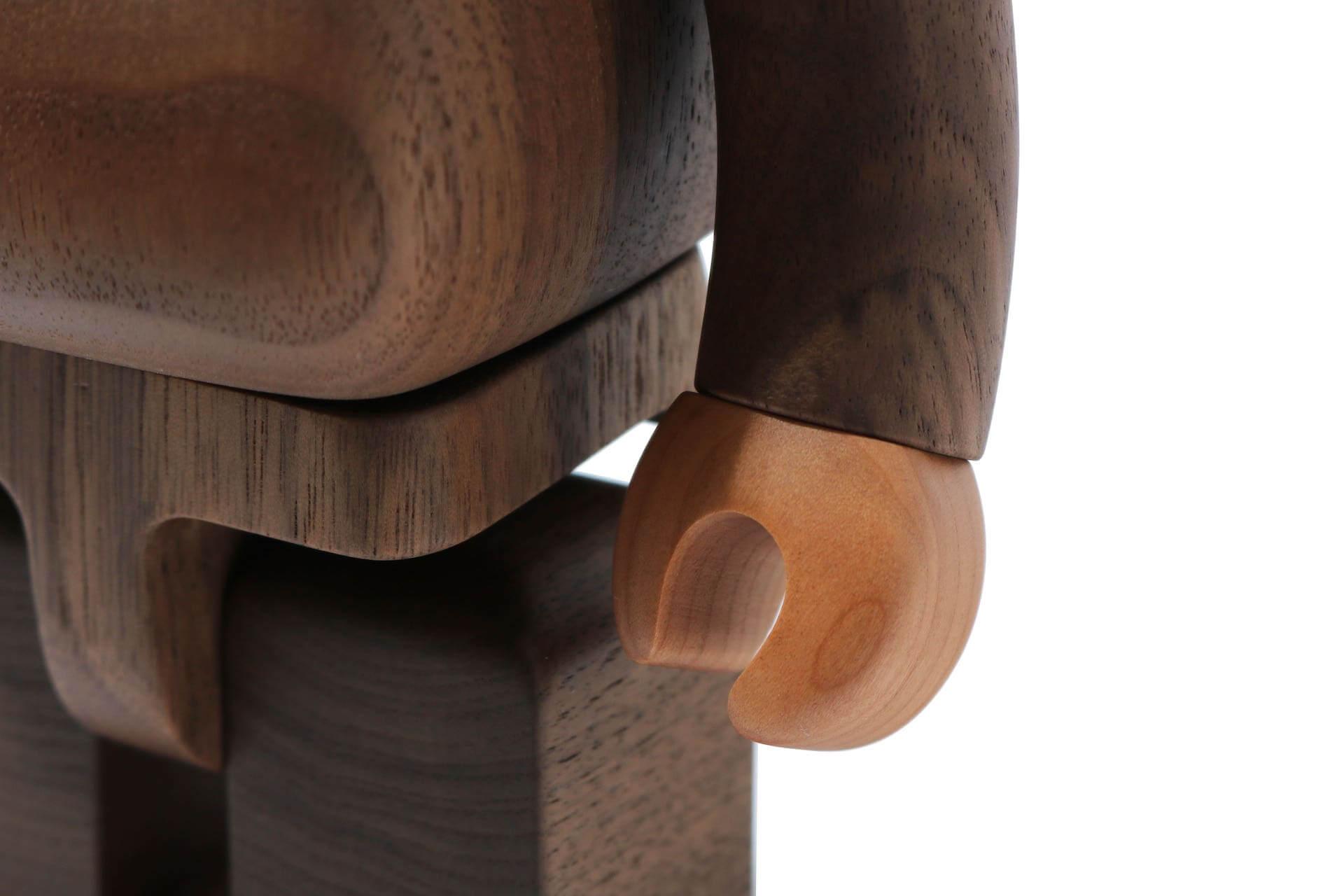 A BATHING APE(R)×カリモク×メディコム・トイのトリプルコラボ!BABY MILO(R)の木製BE@RBRICKが登場 ac200526_bearbrick_07