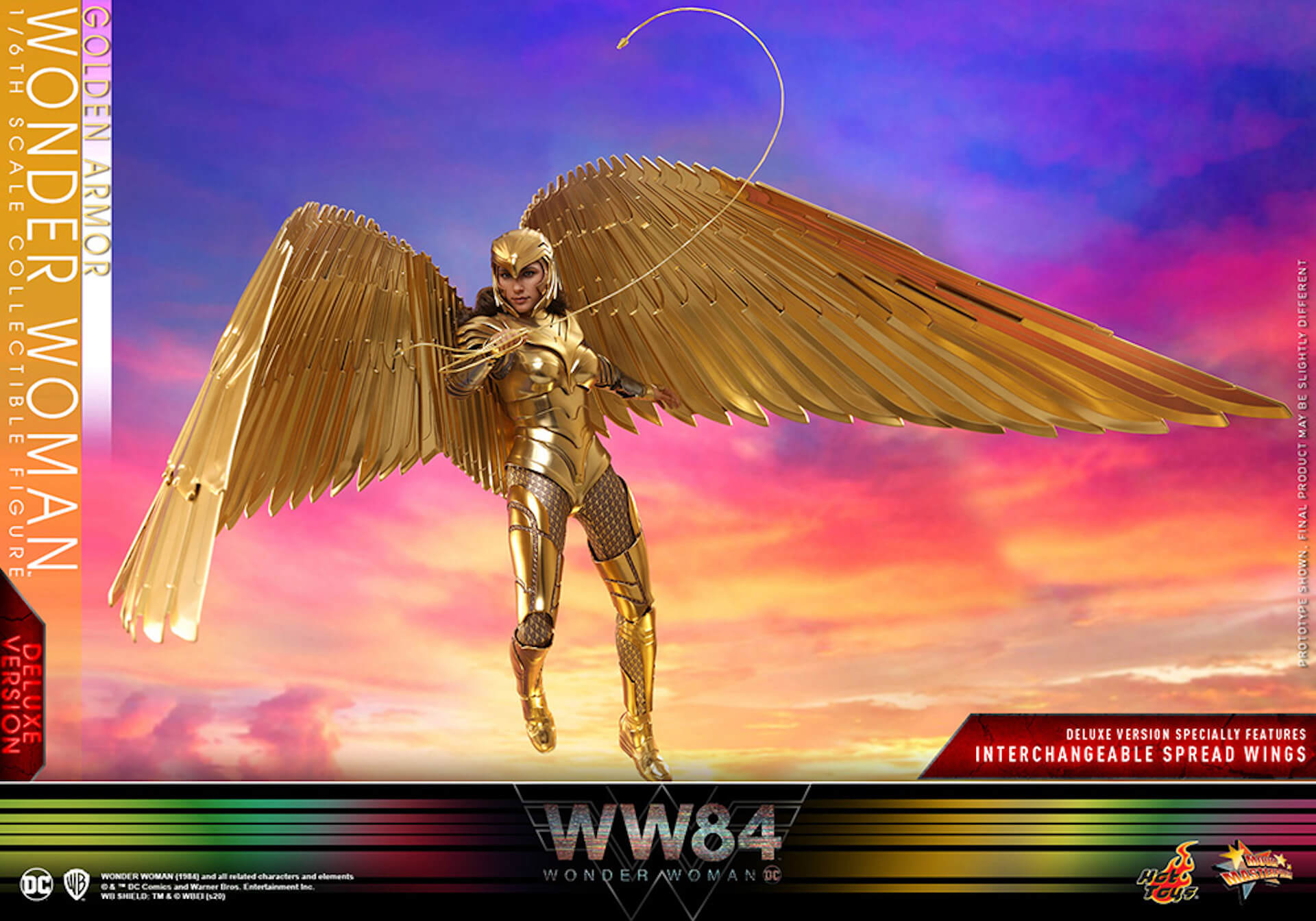 最新作『ワンダーウーマン 1984』からゴールドアーマー装着のワンダーウーマンフィギュアがホットトイズで登場! art200528_ww_hottoys_1